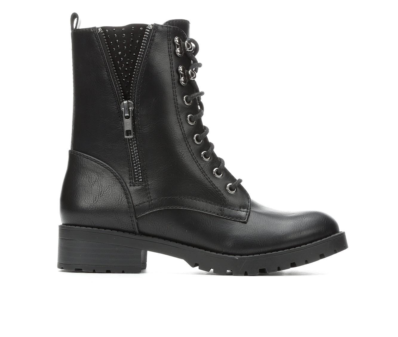 Unr8ed Kit Women's Boot (Black Faux Leather)