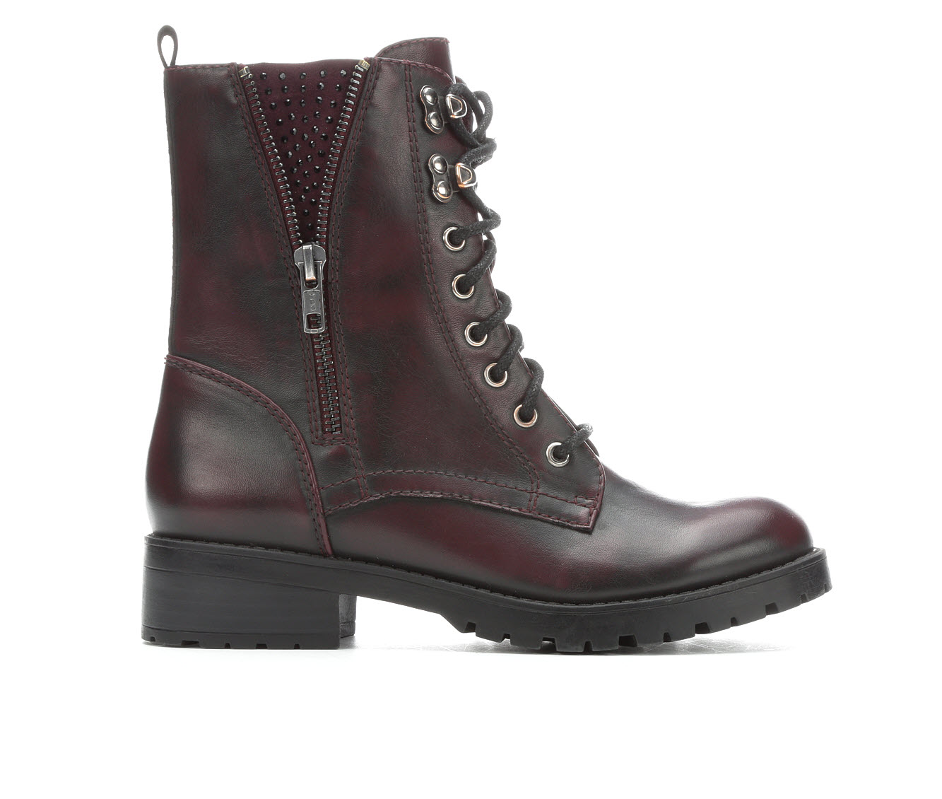 Unr8ed Kit Women's Boots (Red - Faux Leather)