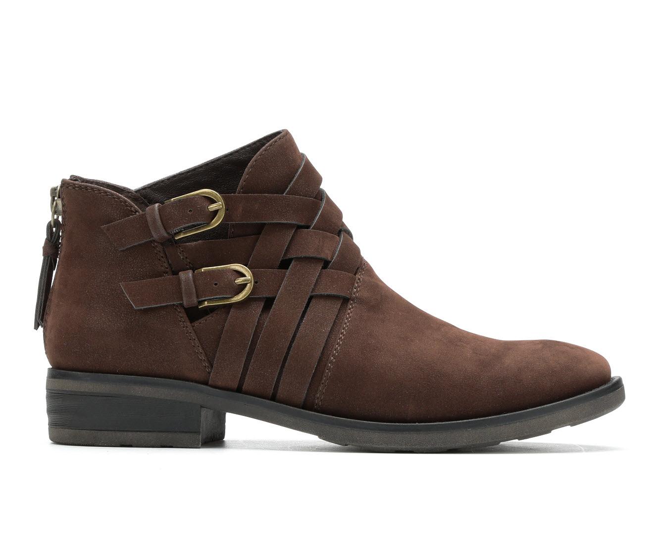 Baretraps Atticus Women's Boot (Brown Faux Leather)