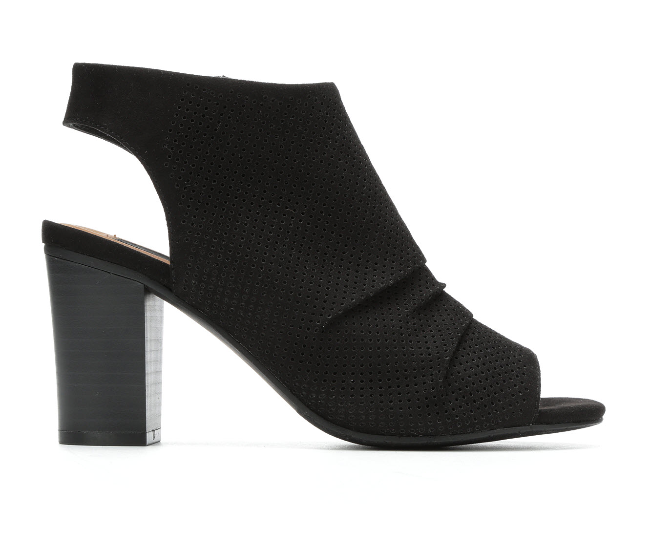David Aaron Danielle Women's Dress Shoe (Black Canvas)