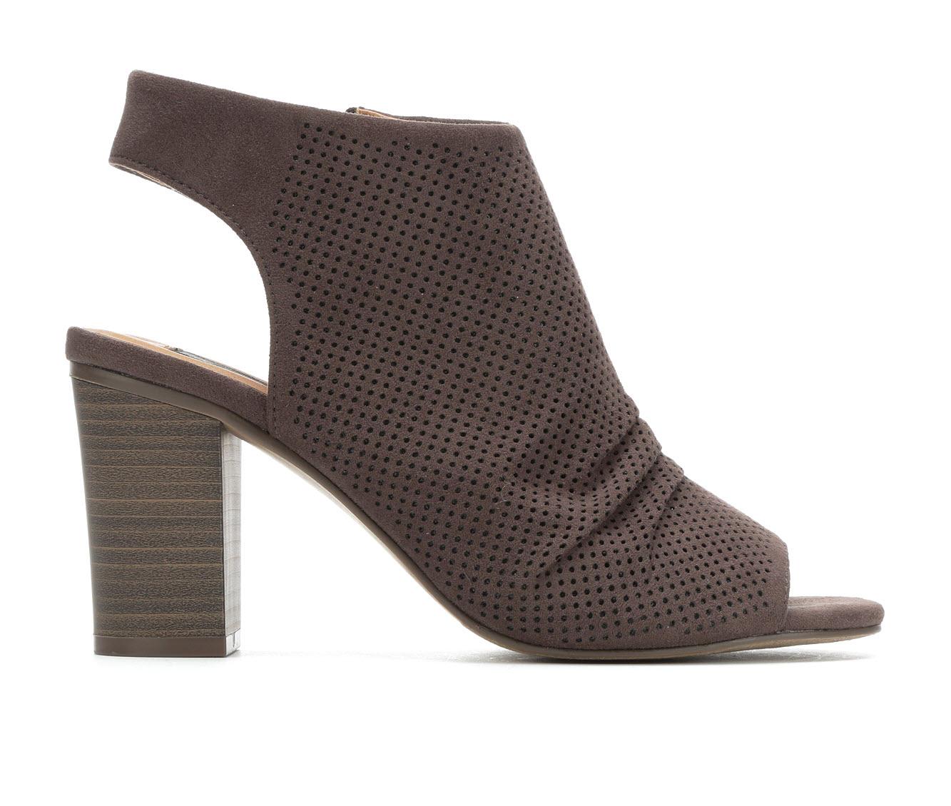 David Aaron Danielle Women's Dress Shoe (Gray Canvas)