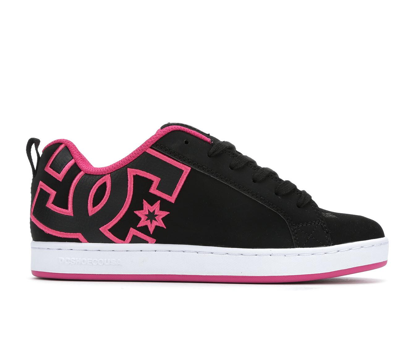 DC Court Graffik Women's Athletic Shoe (Black)