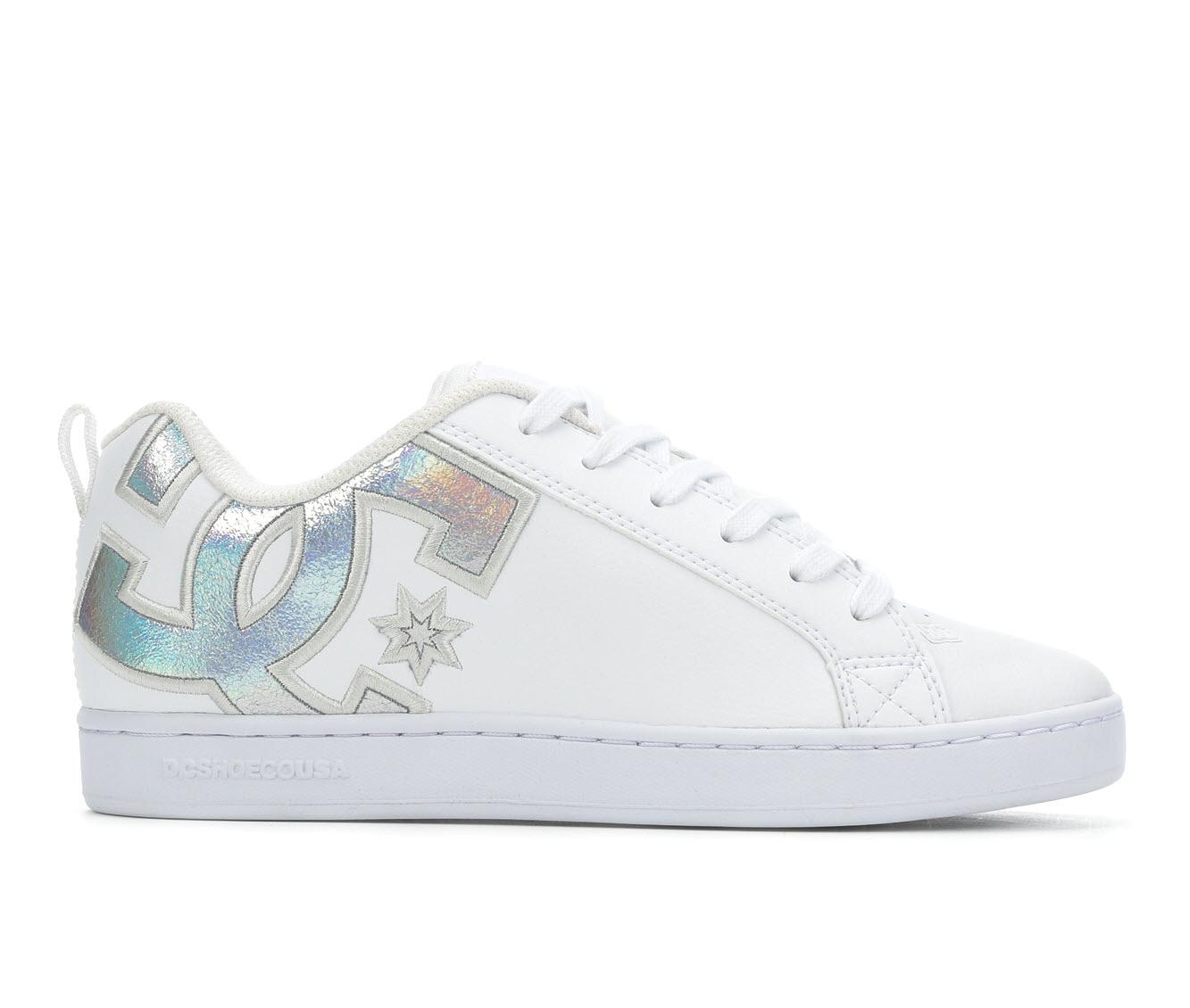 DC Court Graffik Women's Athletic Shoe (White)