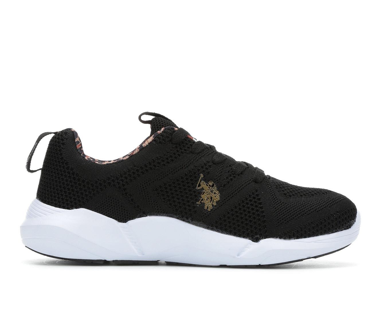 US Polo Assn Lavina Women's Athletic Shoe (Black)