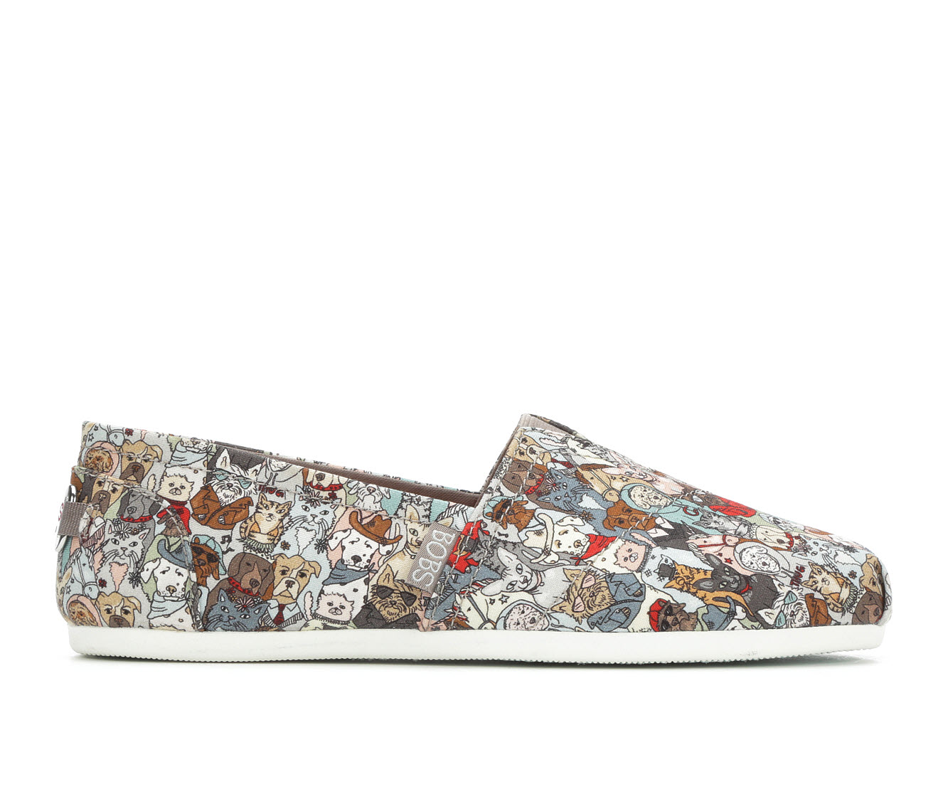 BOBS Band of Characters Women's Shoe (Multi-color Canvas)