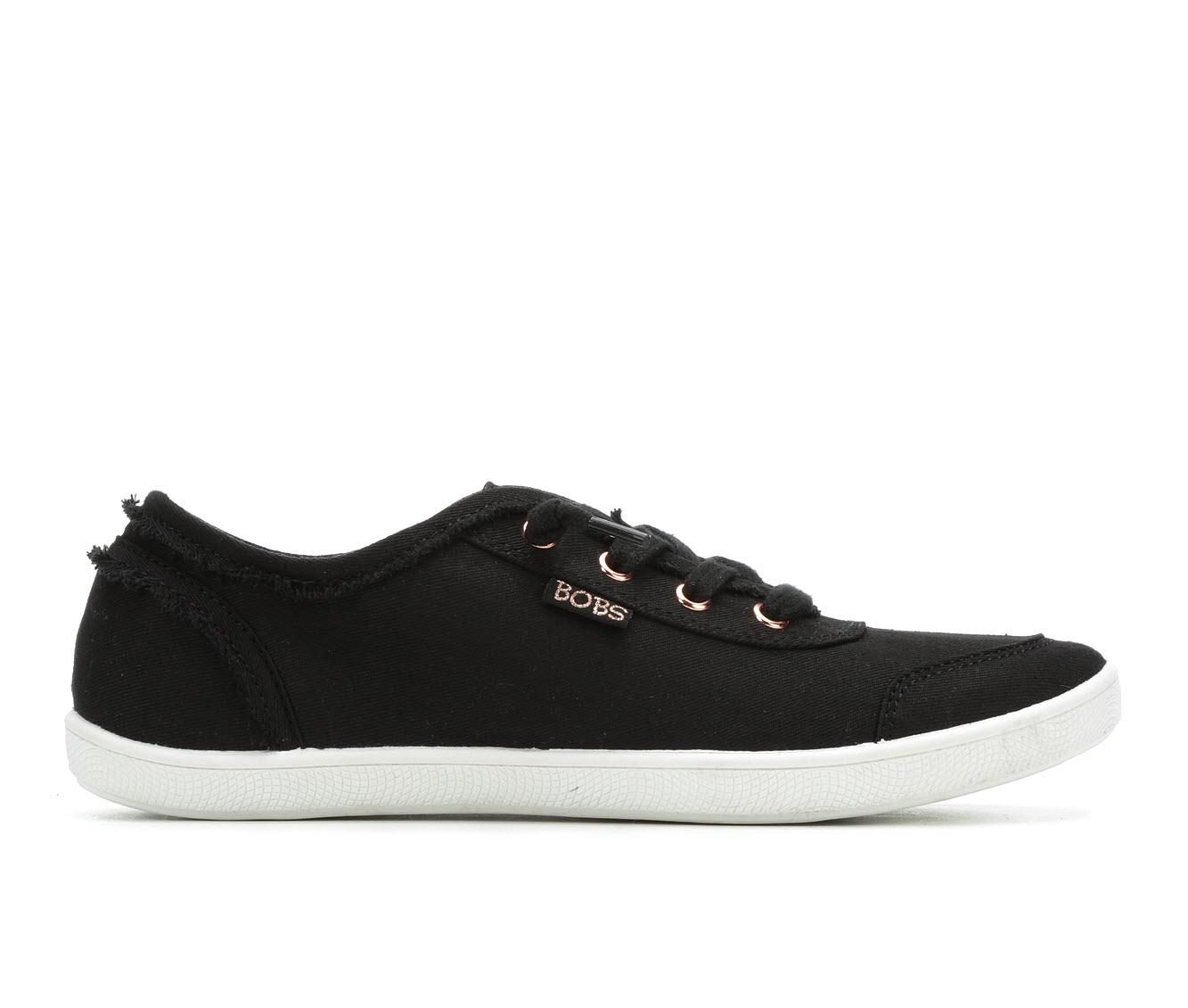 BOBS B Cute Women's Shoe (Black Canvas)