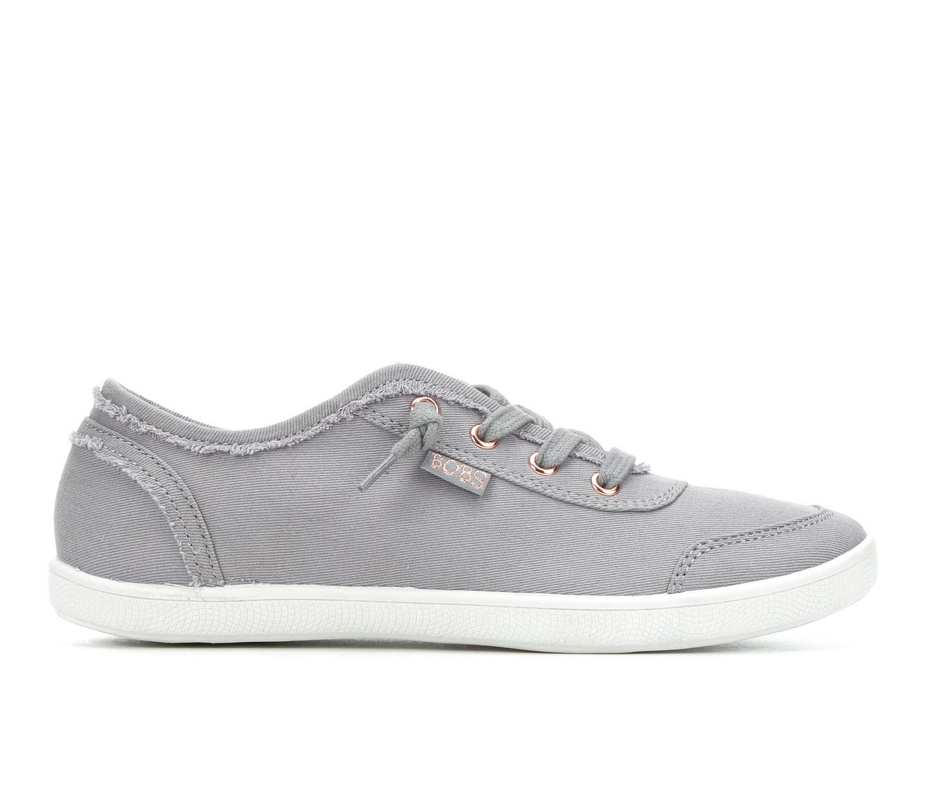 BOBS B Cute Women's Shoe (Gray Canvas)