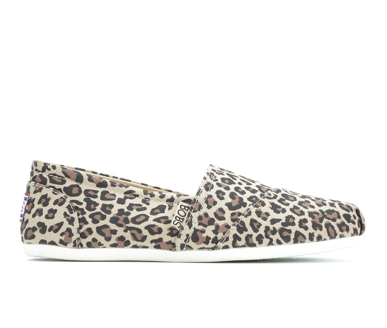 BOBS Hot Spotted 33417 Women's Shoe (Beige Canvas)