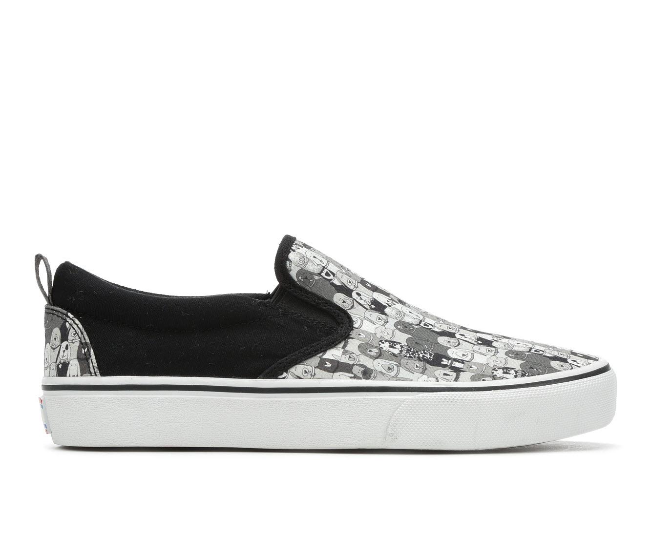 BOBS Marley Jr 33297 Women's Shoe (Black Canvas)