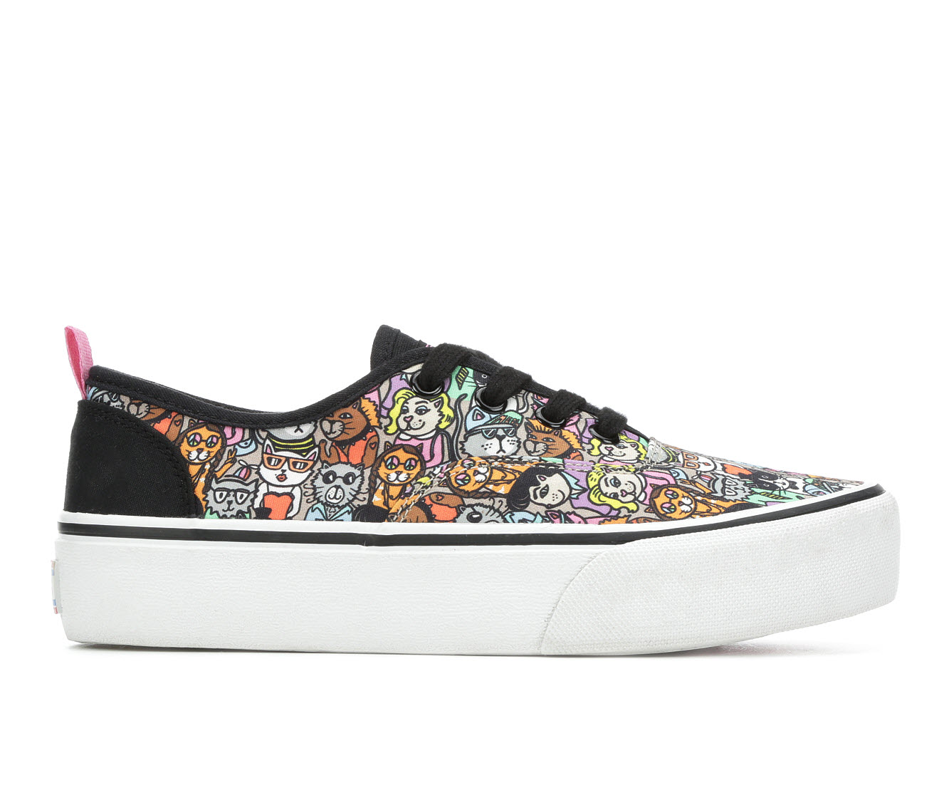 BOBS Marley Meow Ages Women's Shoe (Black Canvas)