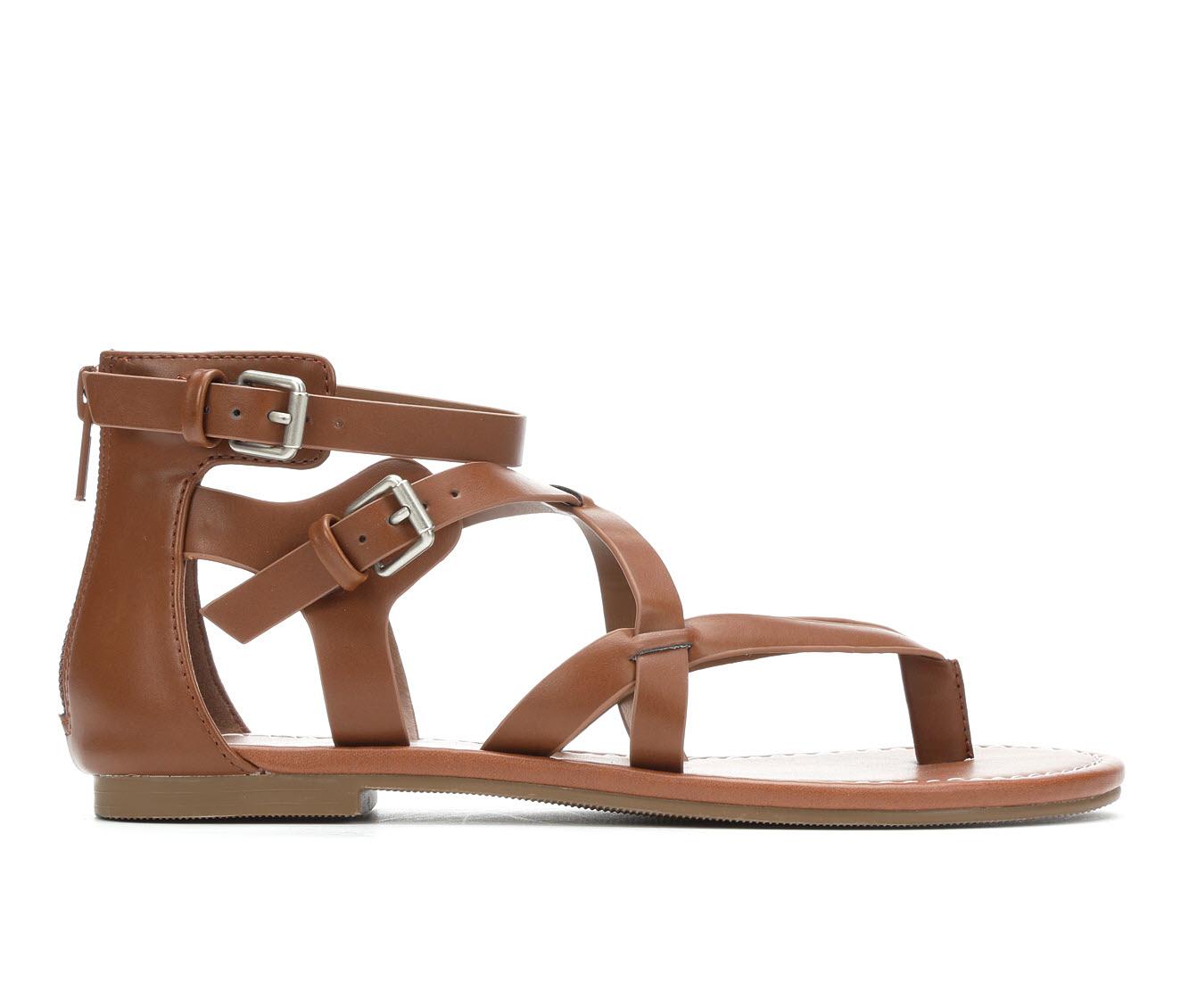 Unr8ed Perfect Women's Sandal (Beige Faux Leather)