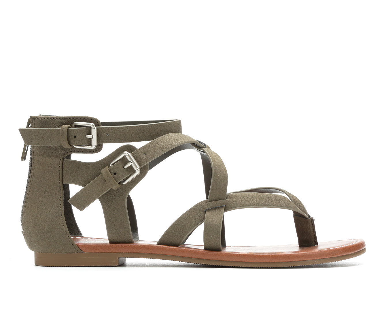 Unr8ed Perfect Women's Sandal (Green Faux Leather)