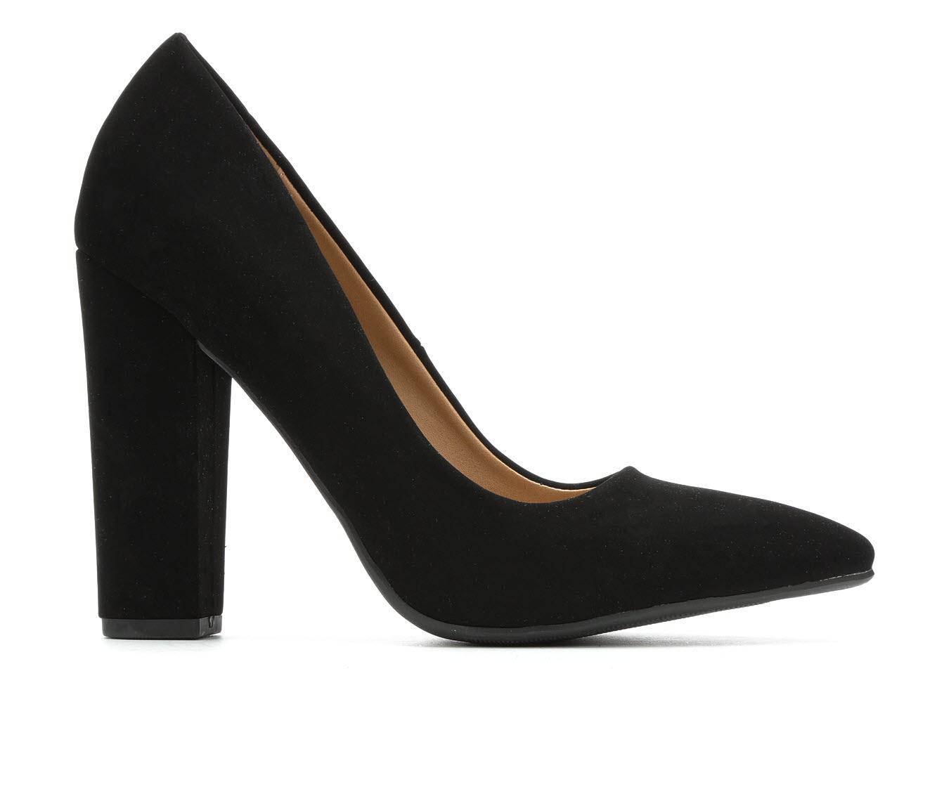 Y-Not Ogden Women's Dress Shoe (Black Faux Leather)