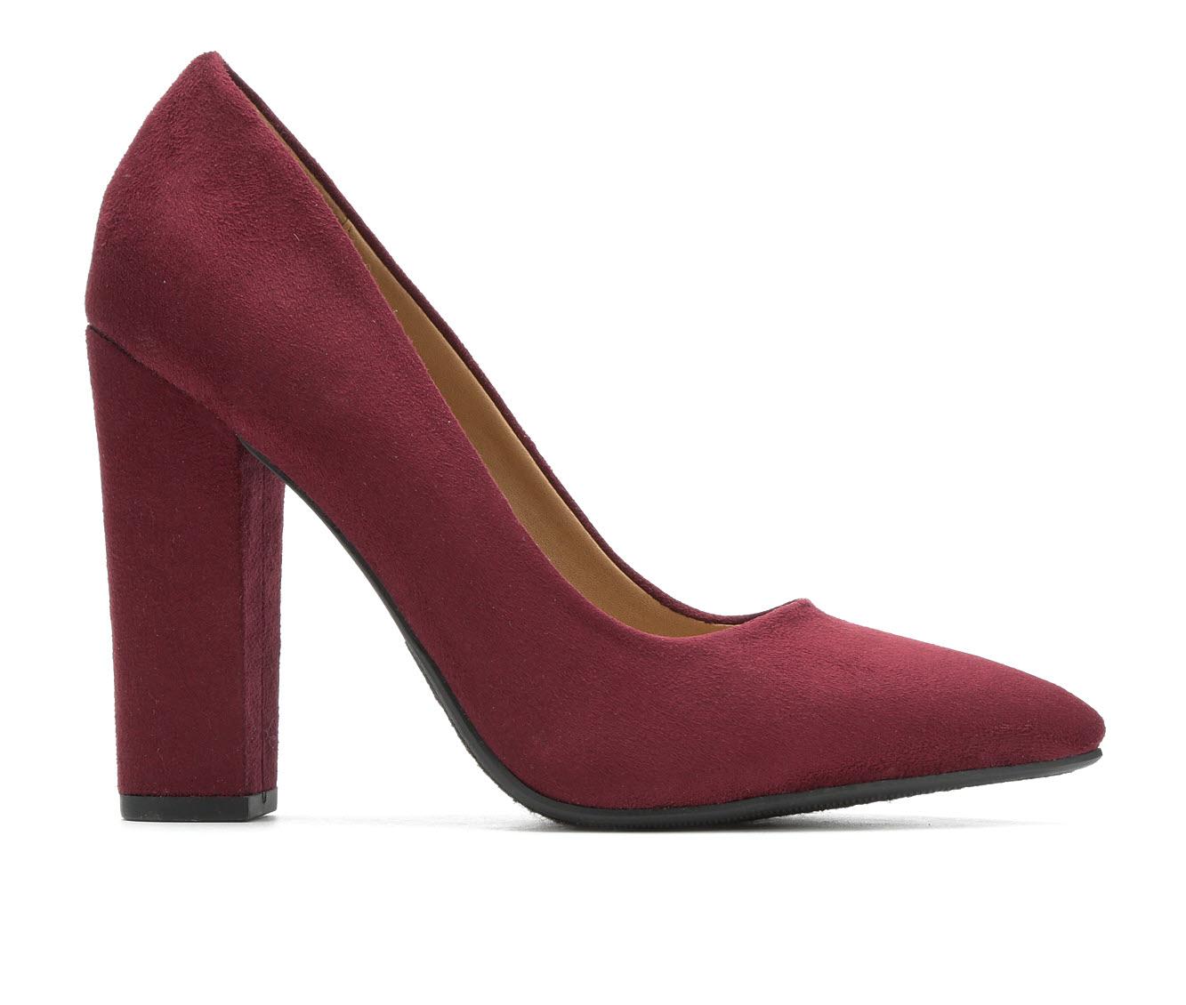 Y-Not Ogden Women's Dress Shoe (Red Canvas)
