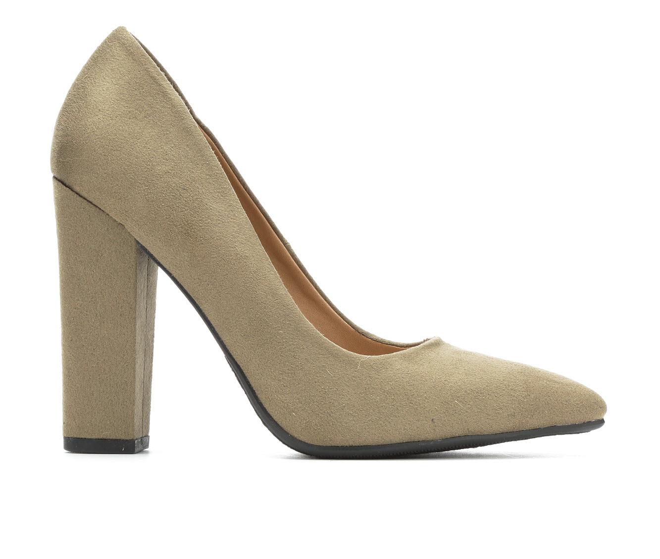 Y-Not Ogden Women's Dress Shoe (Beige Canvas)