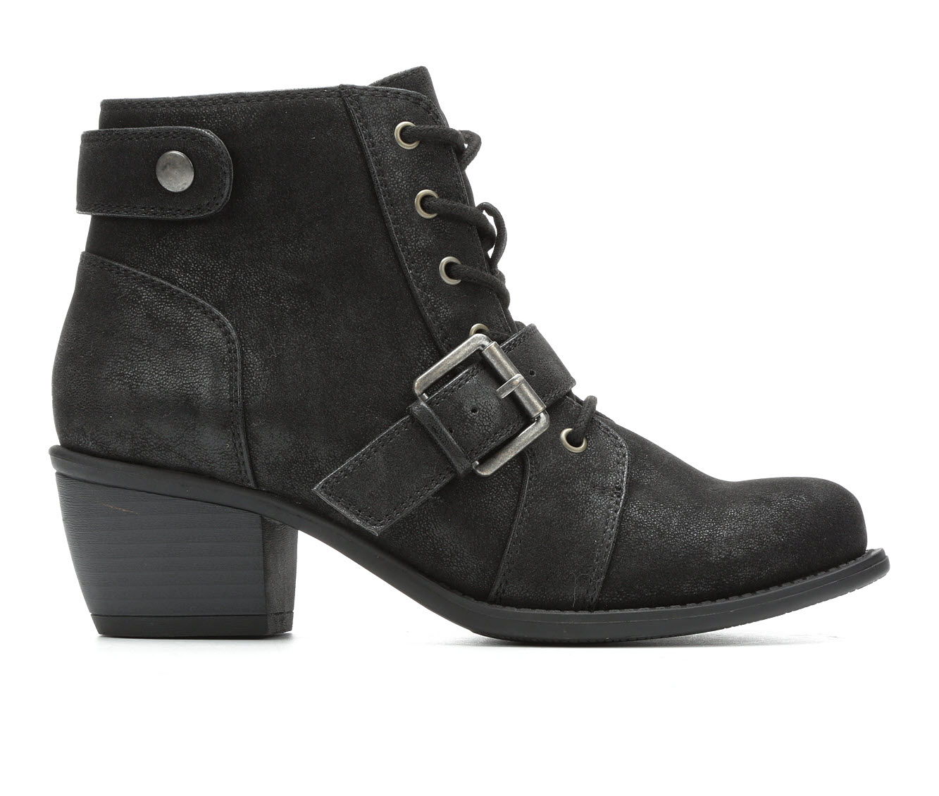 Axxiom Carly Women's Boot (Black Faux Leather)