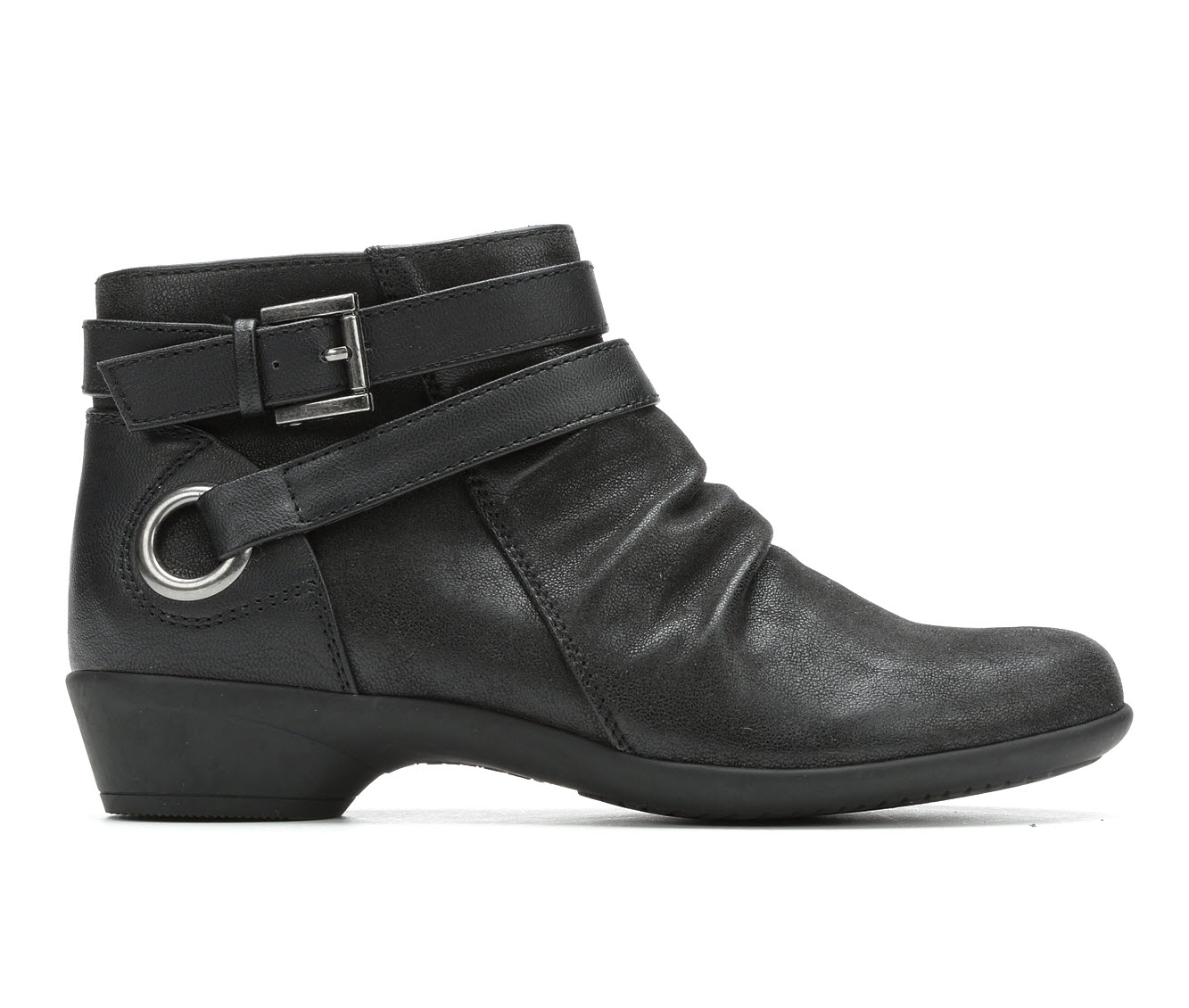 Axxiom Charlotte Women's Boot (Black Faux Leather)