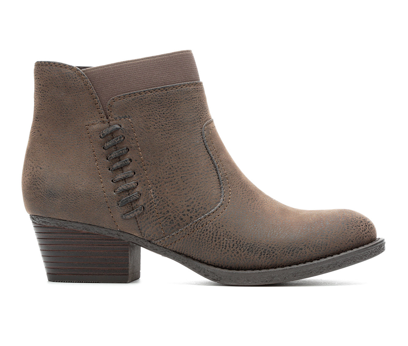 Vintage 7 Eight Shawna Women's Boot (Brown Faux Leather)