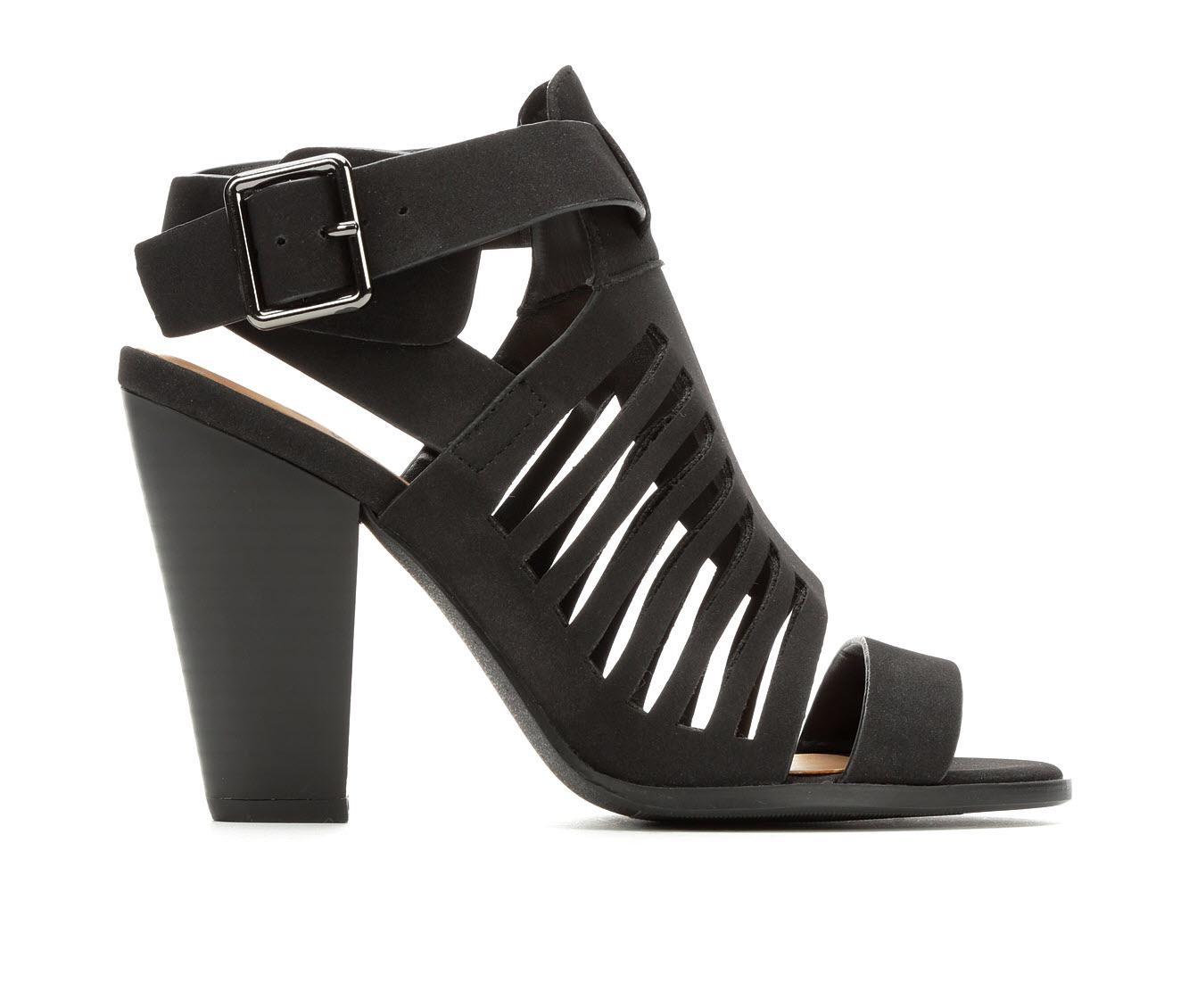 Delicious Yummy Women's Dress Shoe (Black Faux Leather)