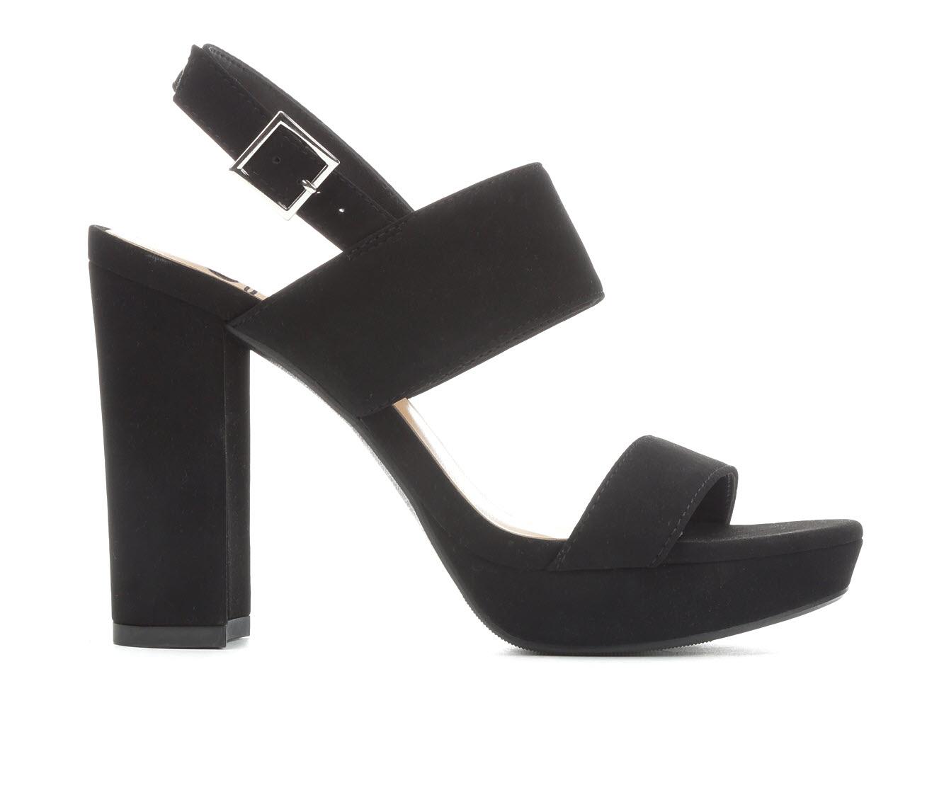 Delicious Flake Women's Dress Shoe (Black Faux Leather)