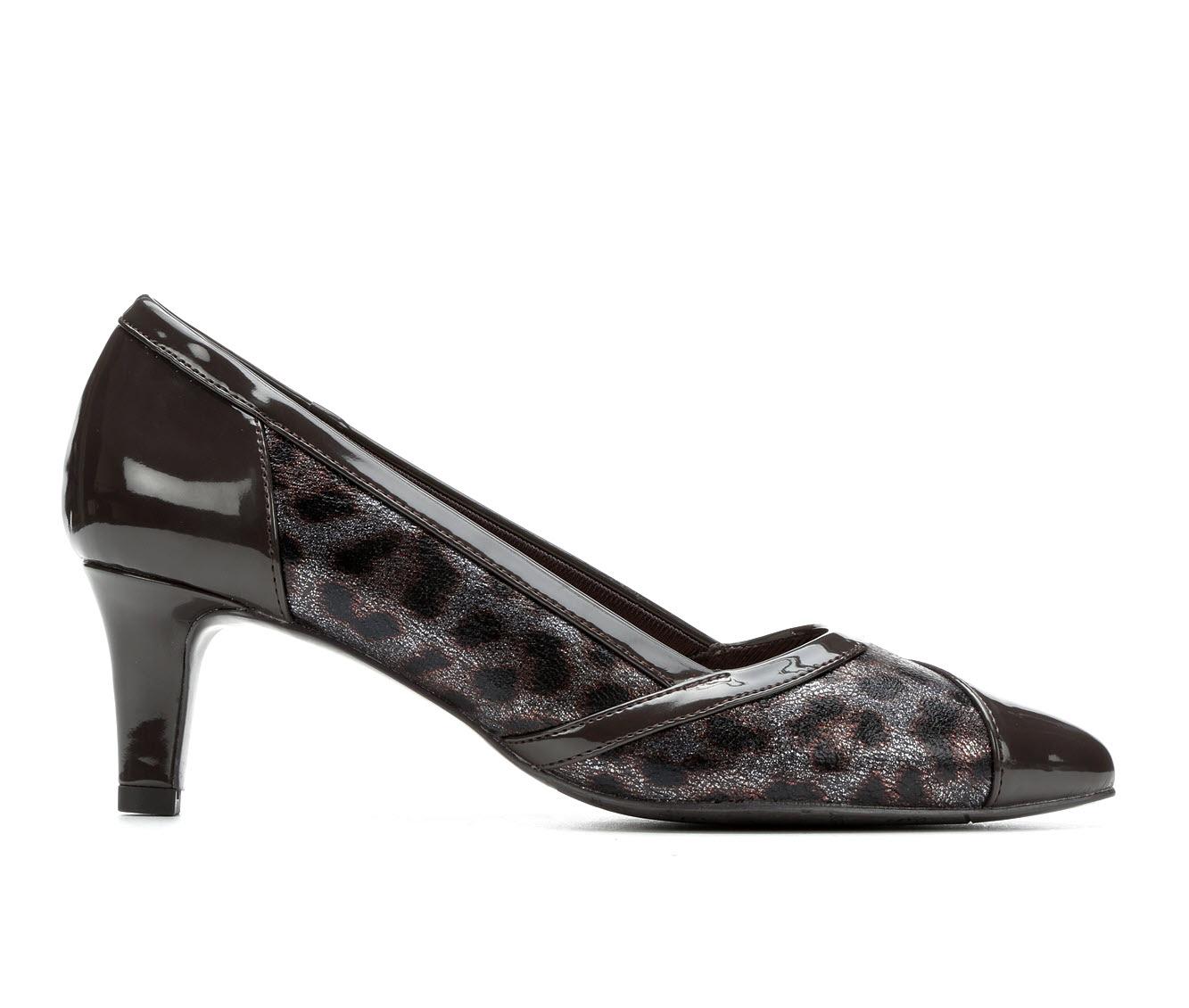 Easy Street Serendipity Women's Dress Shoe (Brown Faux Leather)