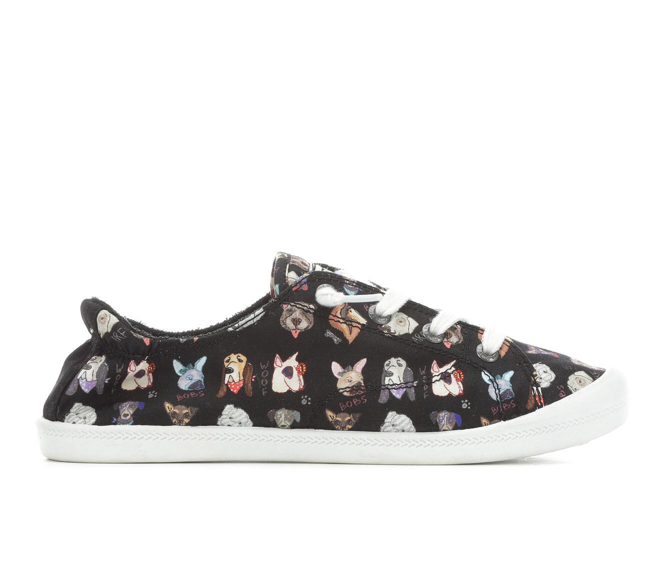 BOBS Dapper Party Women's Shoe (Black Canvas)