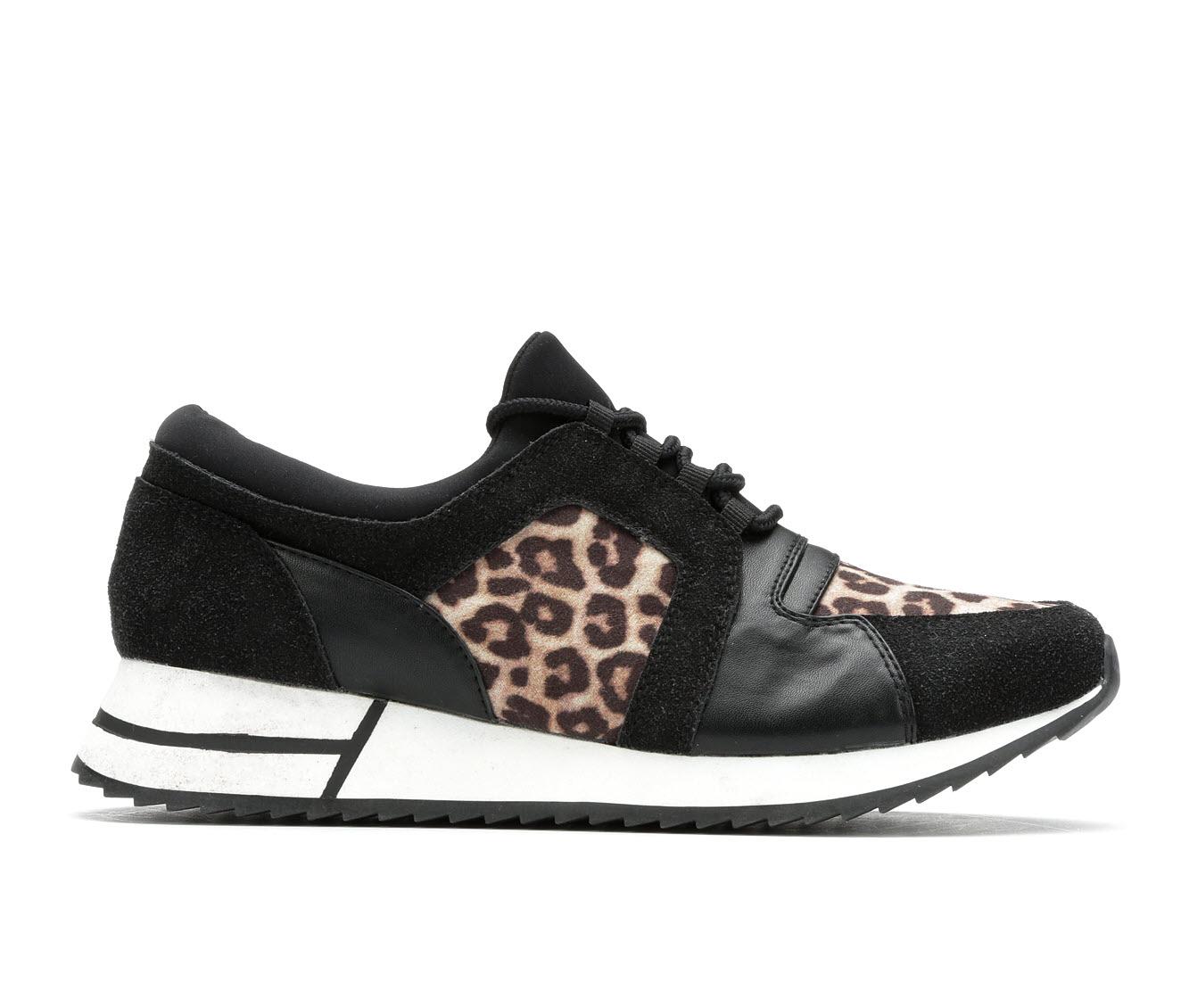 Unr8ed Meme Women's Shoe (Black Faux Leather)