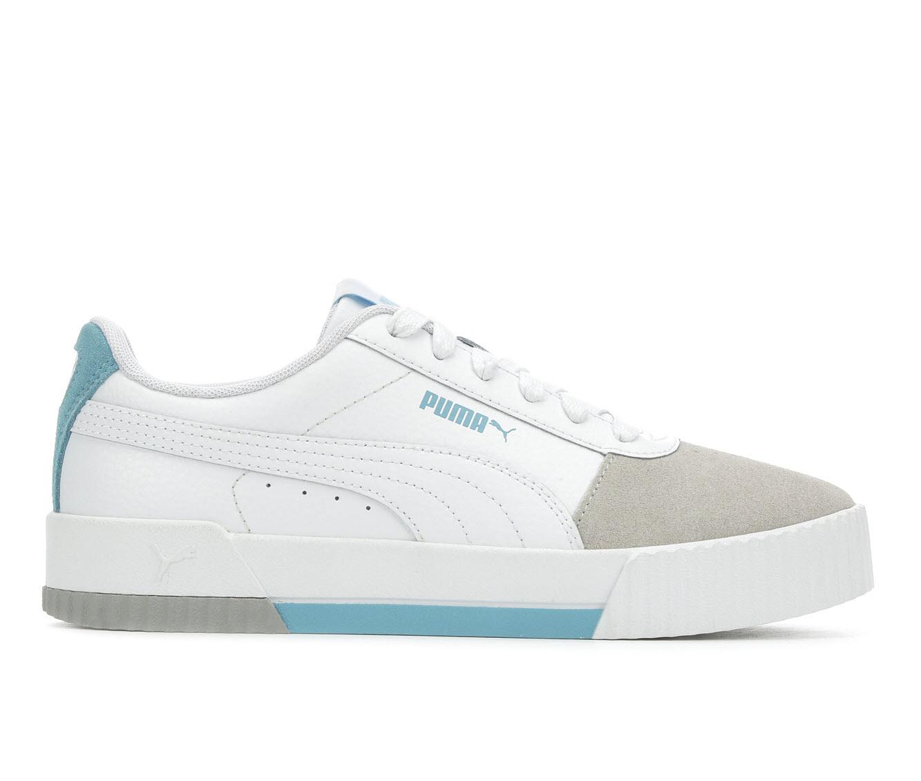 Puma Carina S Leather Women's Athletic Shoe (White)