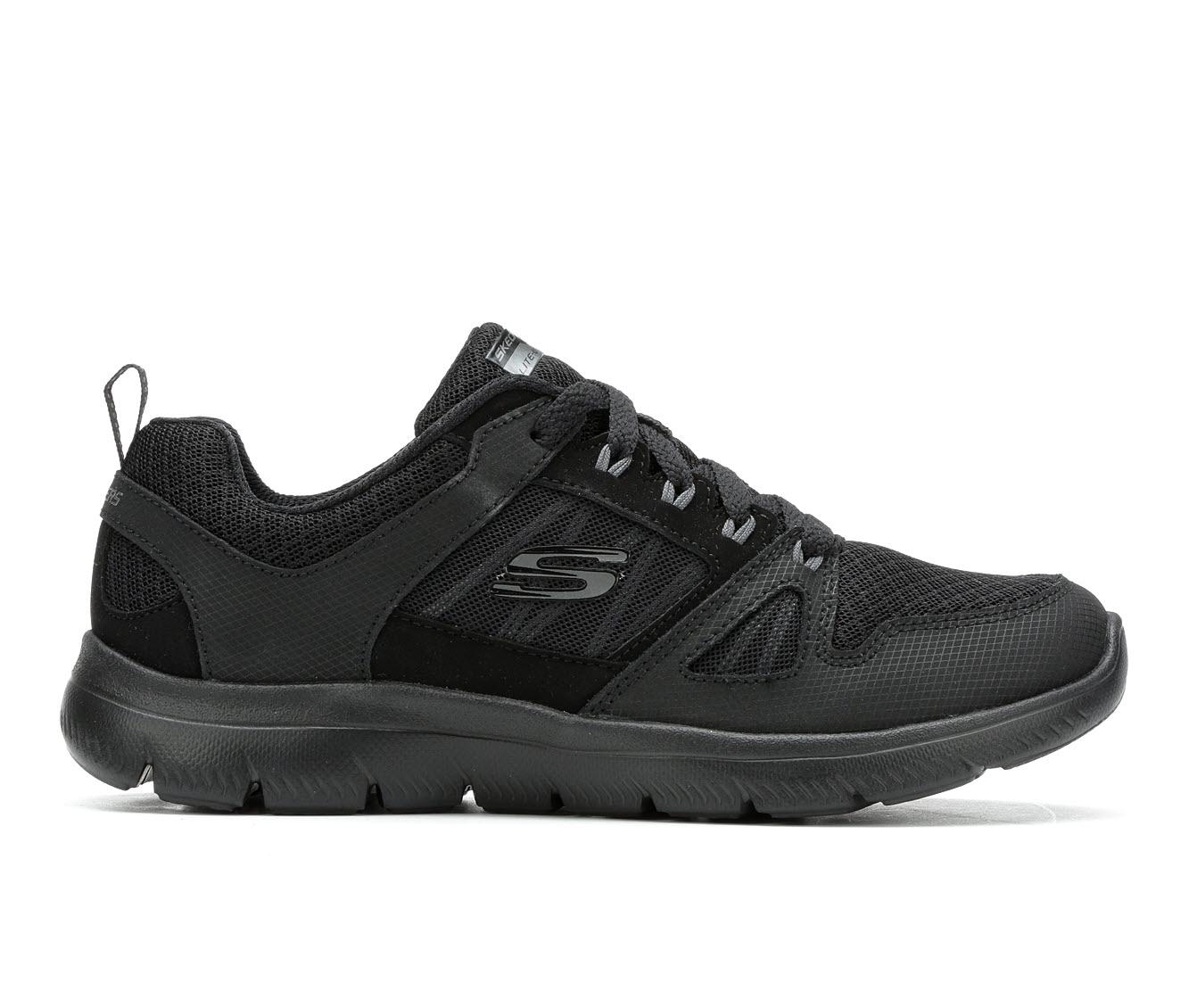 Skechers New World 12997 Women's Athletic Shoe (Black)