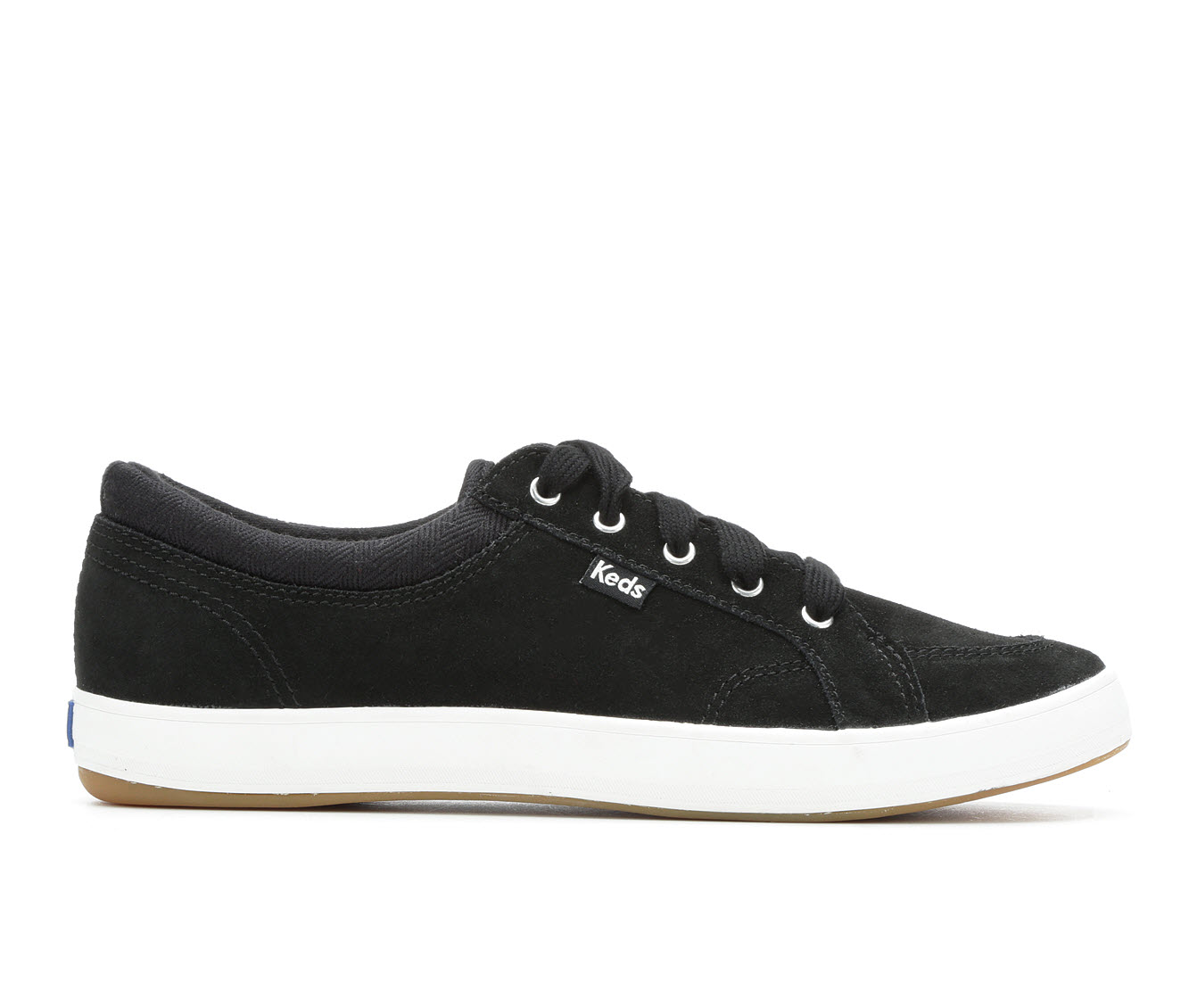 Keds Center Suede Women's Shoe (Black Canvas)