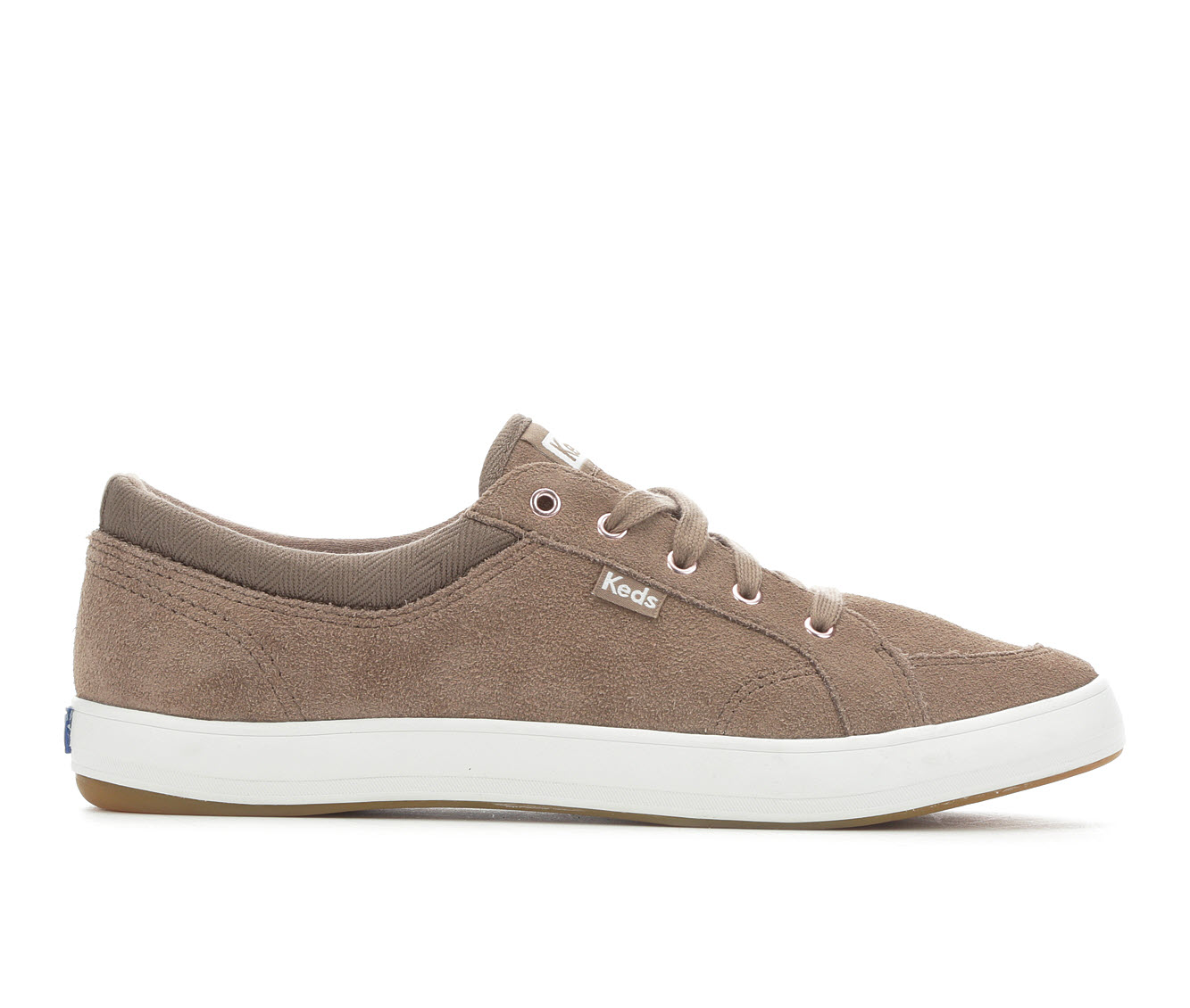 Keds Center Suede Women's Shoe (Brown Canvas)