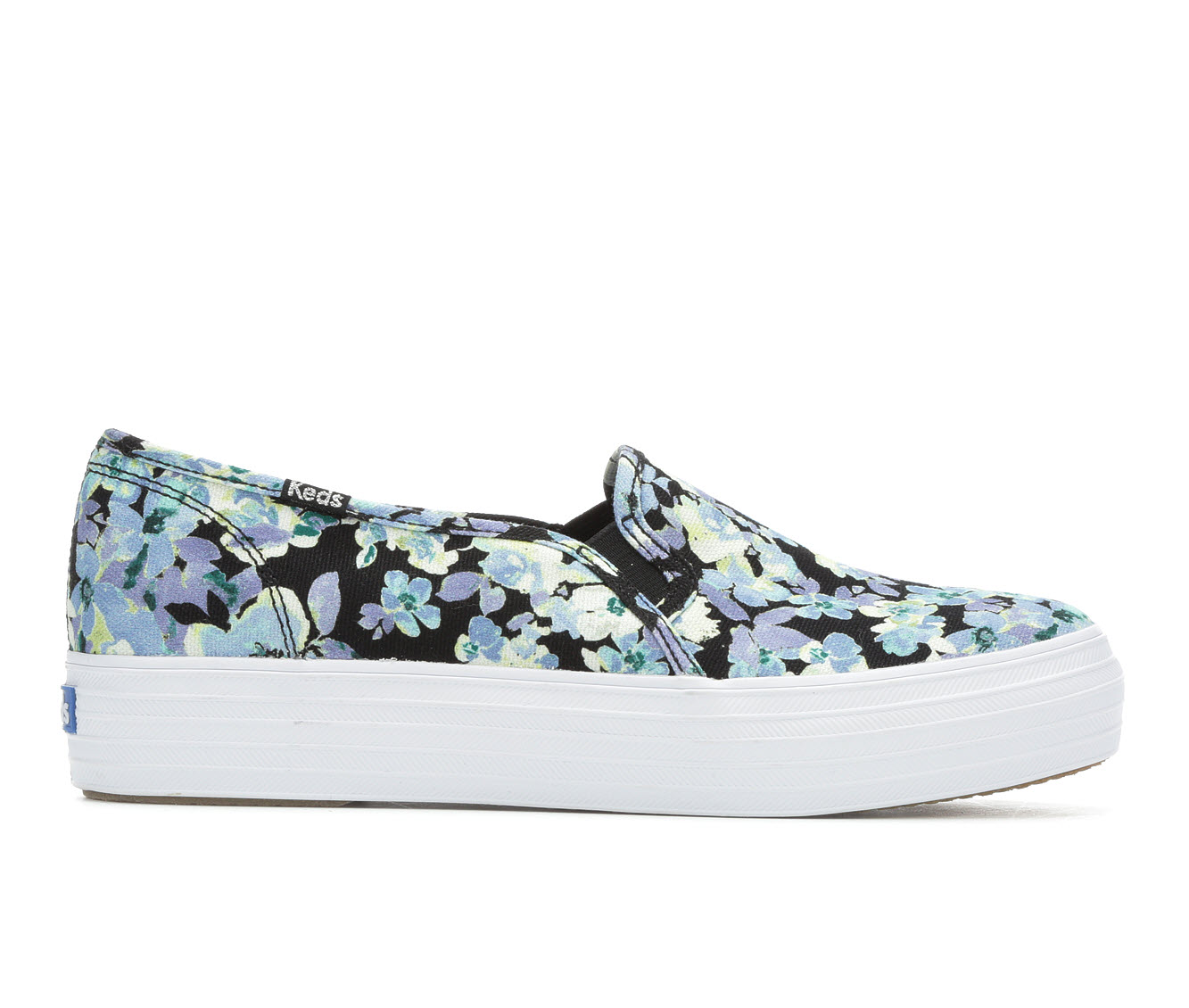 Keds Triple Decker Floral Women's Shoe (Multi-color Canvas)