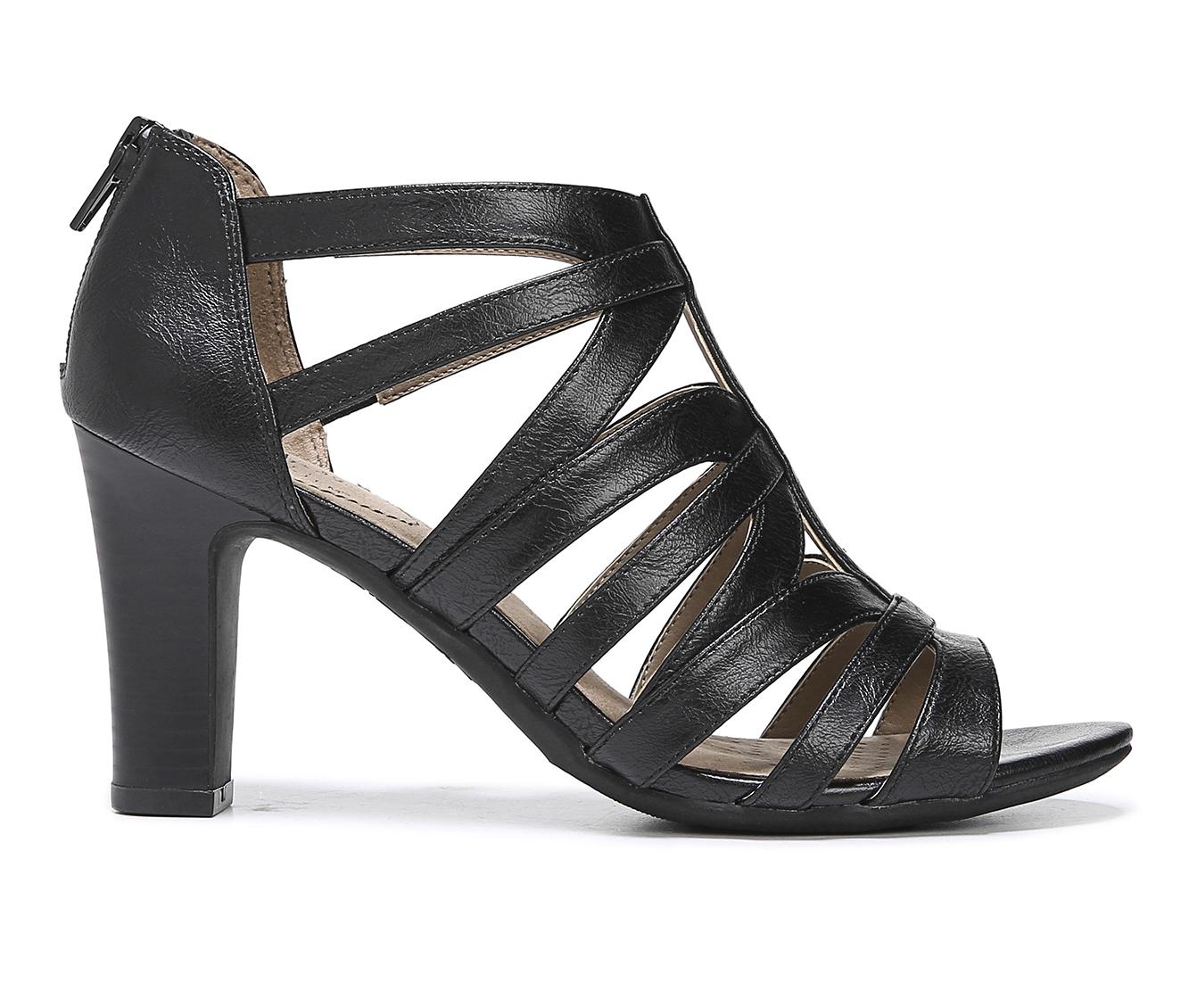 LifeStride Carter Women's Dress Shoe (Black Faux Leather)