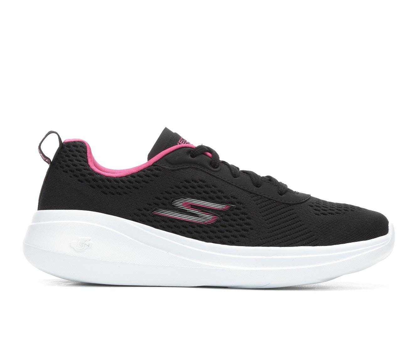 Skechers Go Go Run Fast Glide 15107 Women's Athletic Shoe (Black)