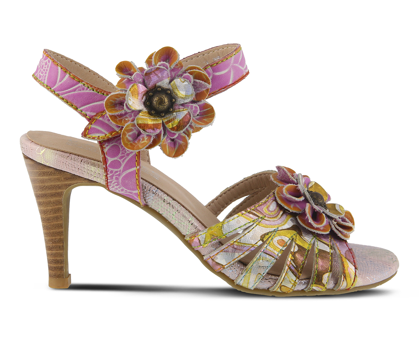 L'Artiste Keiko Women's Dress Shoe (Pink Leather)