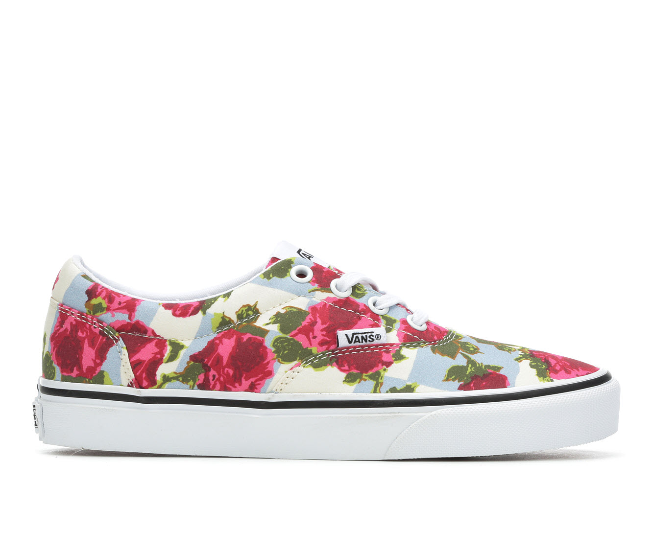 Vans Doheny Floral Women's Athletic Shoe (Blue)