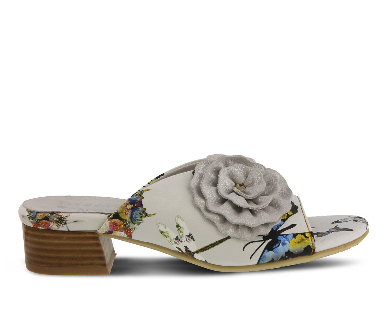 L'Artiste Isittora Women's Sandal (White Leather)