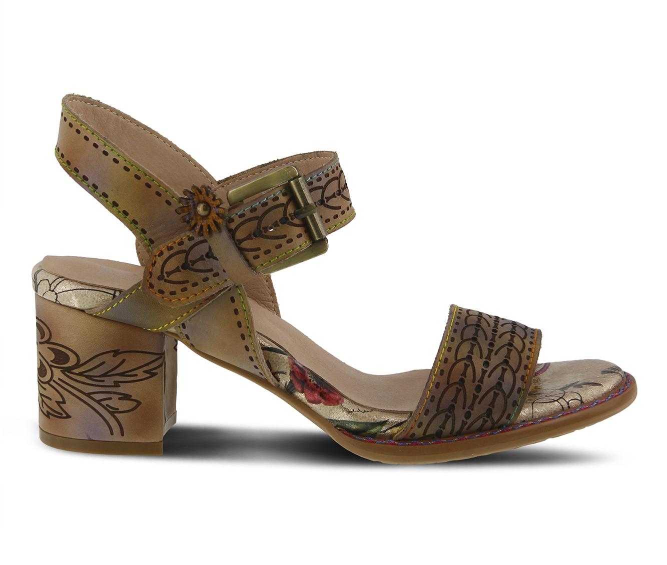 L'Artiste Avonora Women's Dress Shoe (Beige Leather)