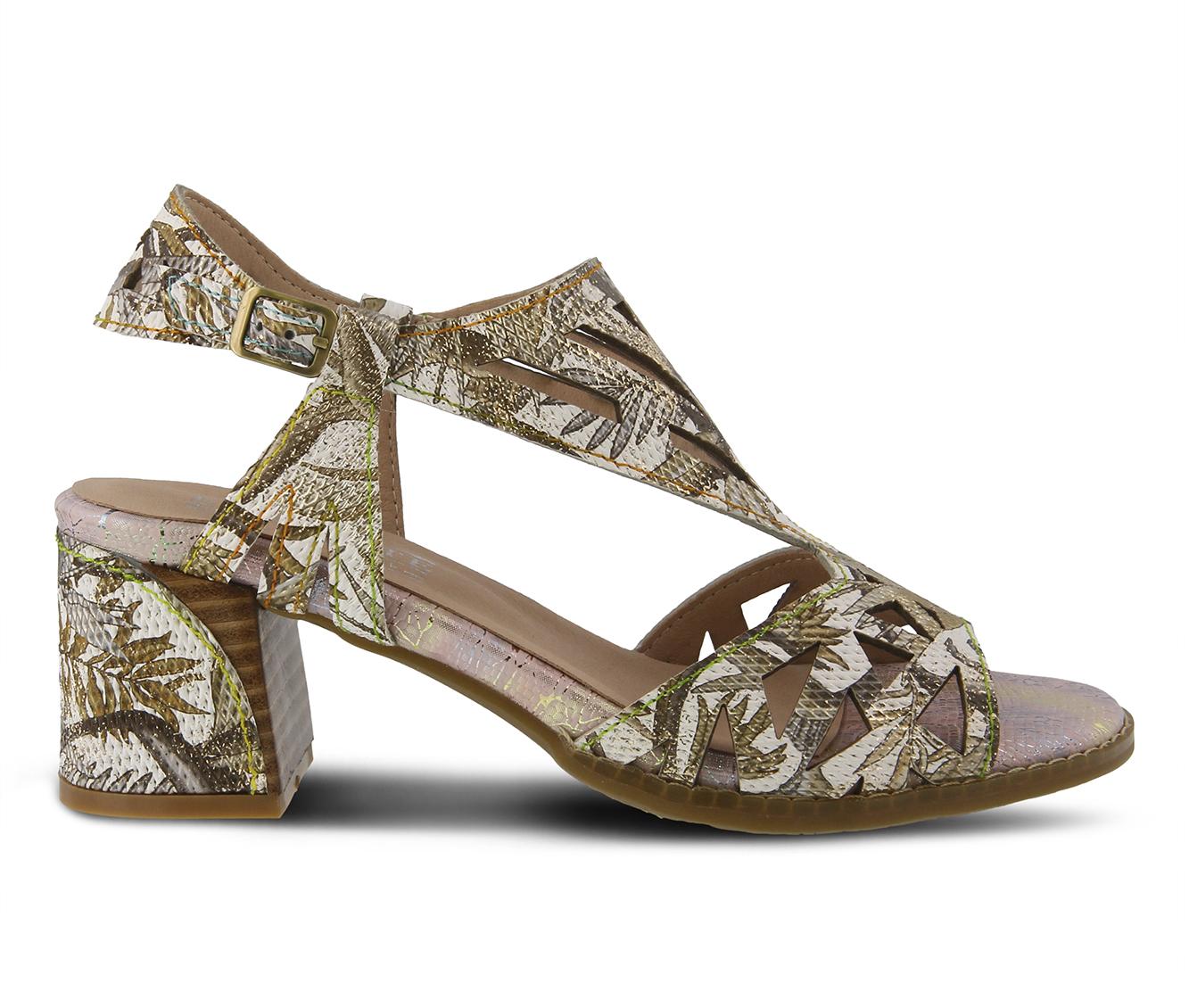 L'Artiste Calpie Women's Dress Shoe (Gold Leather)
