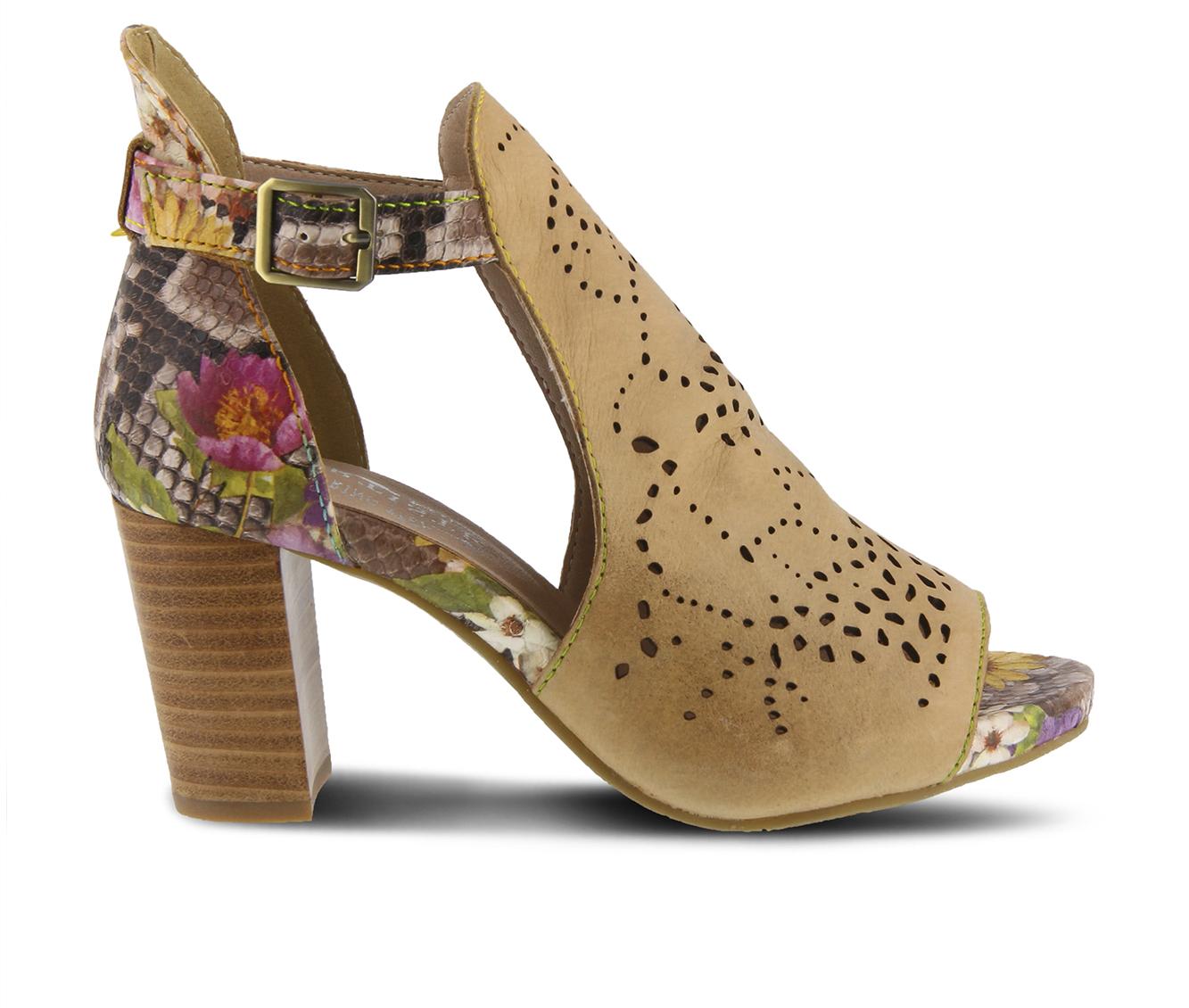 L'Artiste Lashonie Women's Dress Shoe (Beige Leather)