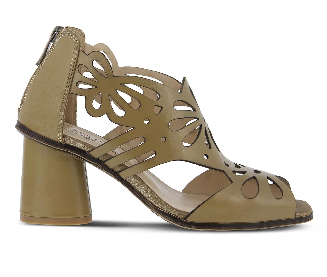 L'Artiste Flamenco Women's Dress Shoe (Beige Leather)