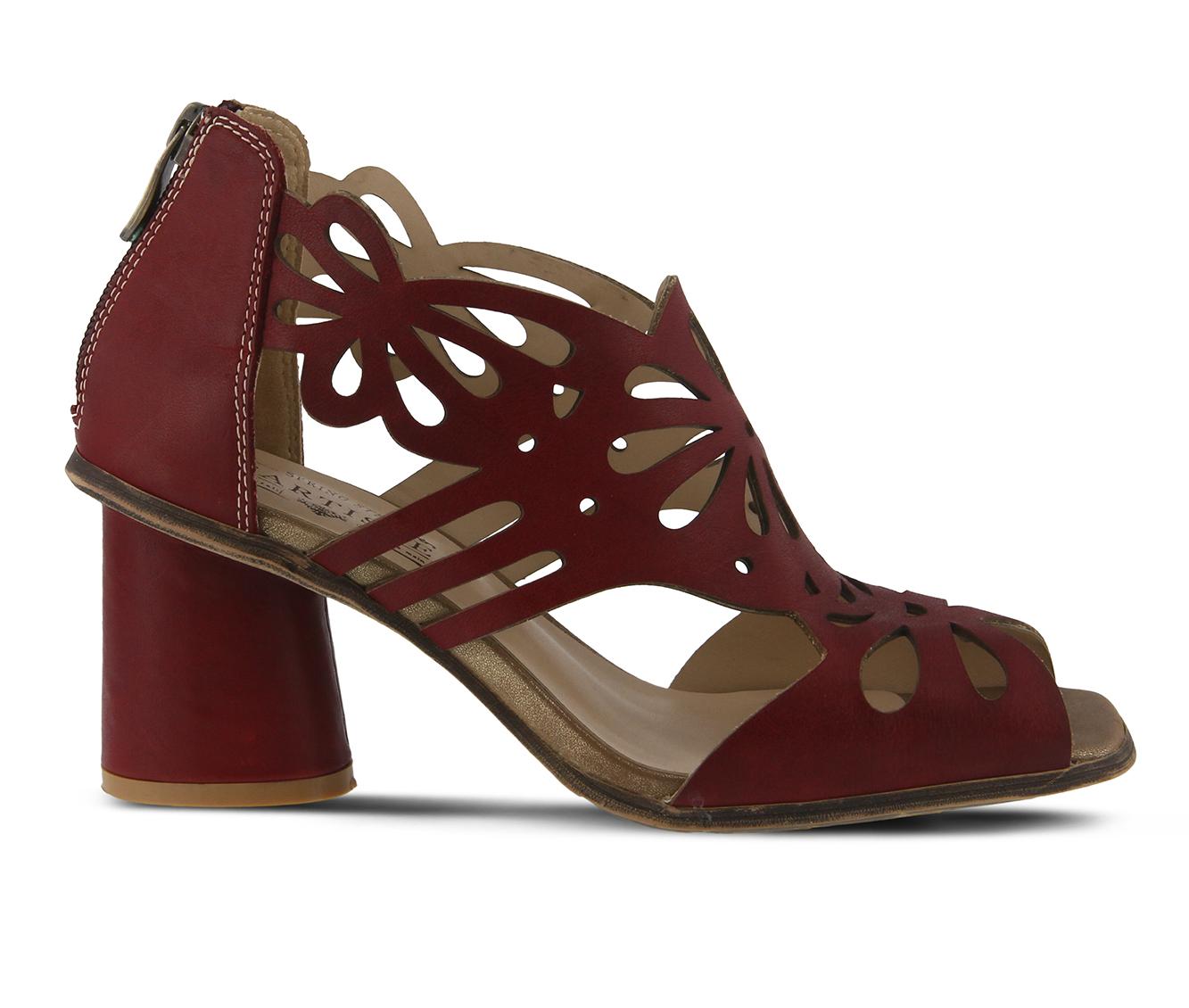 L'Artiste Flamenco Women's Dress Shoe (Red Leather)