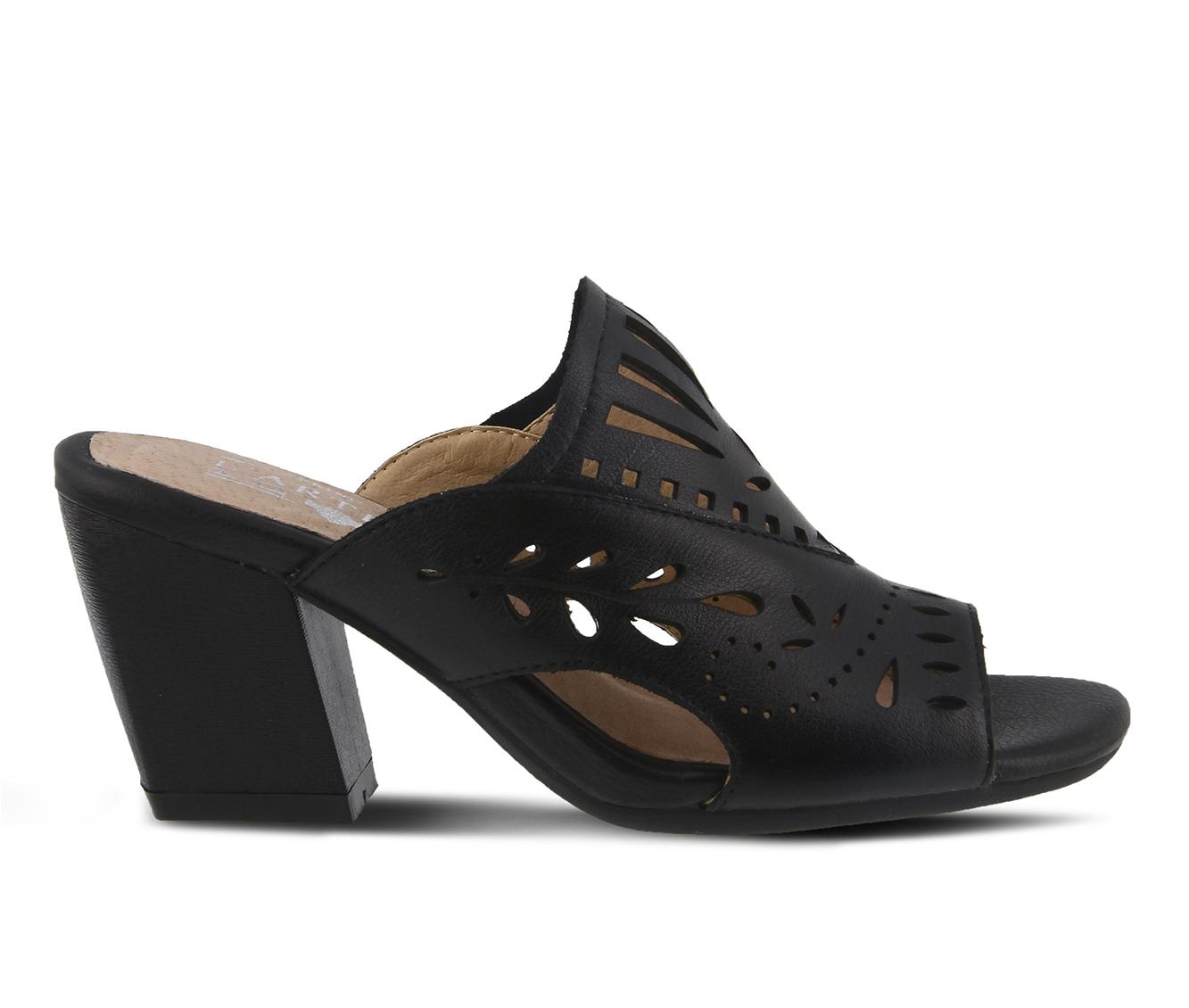 L'Artiste Zyzana Women's Dress Shoe (Black Leather)