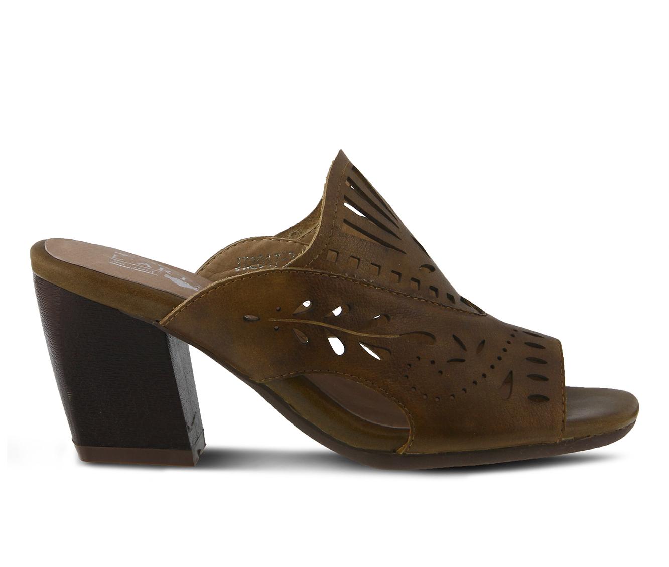 L'Artiste Zyzana Women's Dress Shoe (Beige Leather)