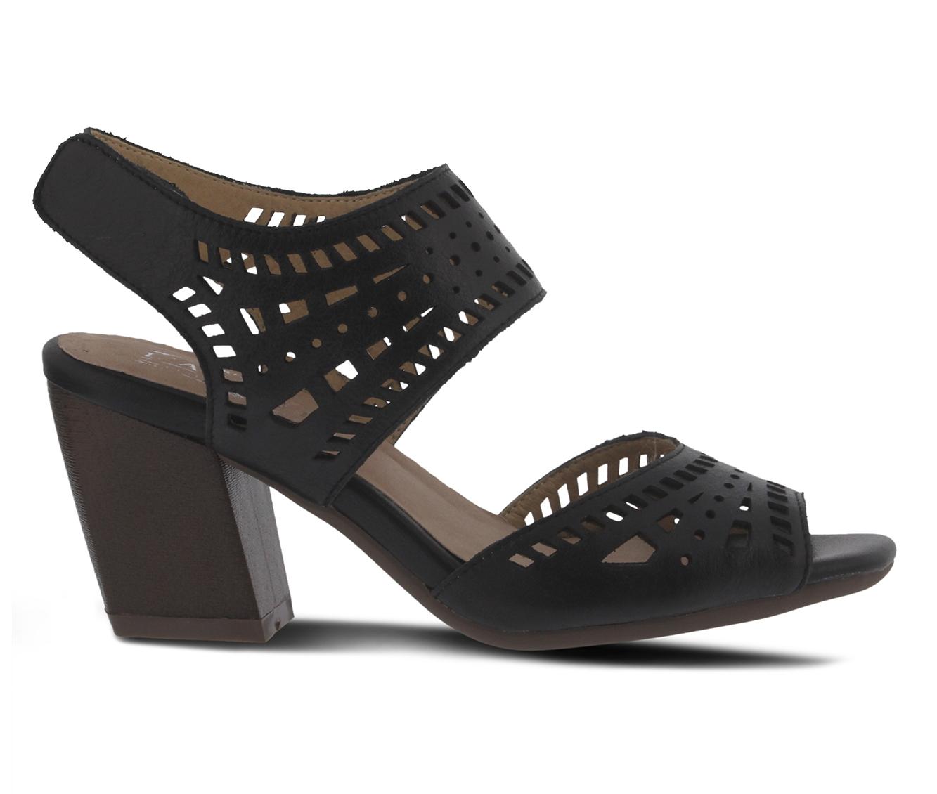 L'Artiste Zemora Women's Dress Shoe (Black Leather)