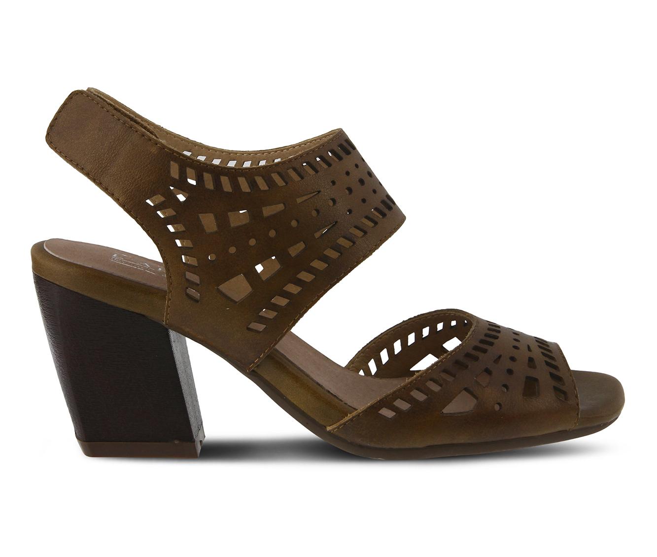L'Artiste Zemora Women's Dress Shoe (Beige Leather)