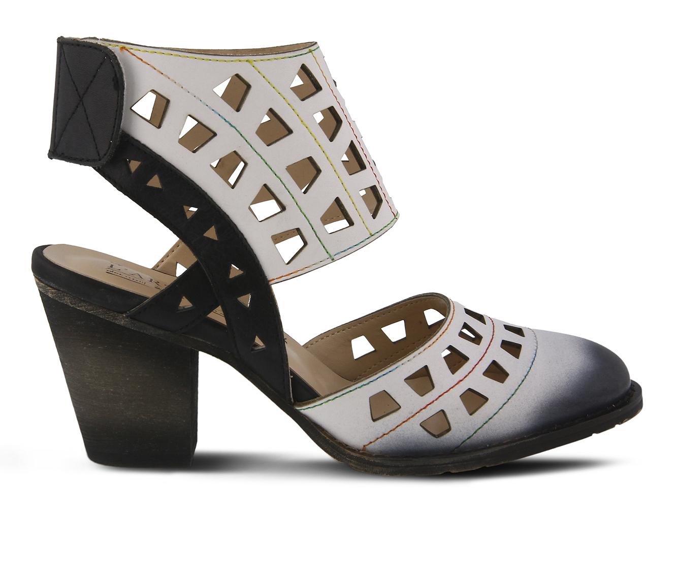 L'Artiste Distinctive Women's Dress Shoe (White Leather)
