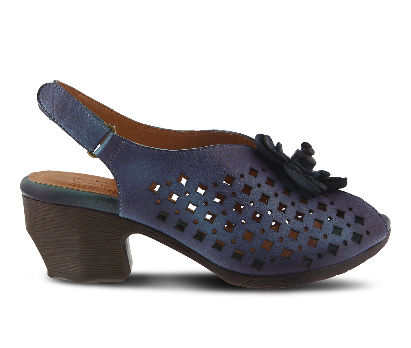 L'Artiste Lovella Women's Dress Shoe (Blue Leather)
