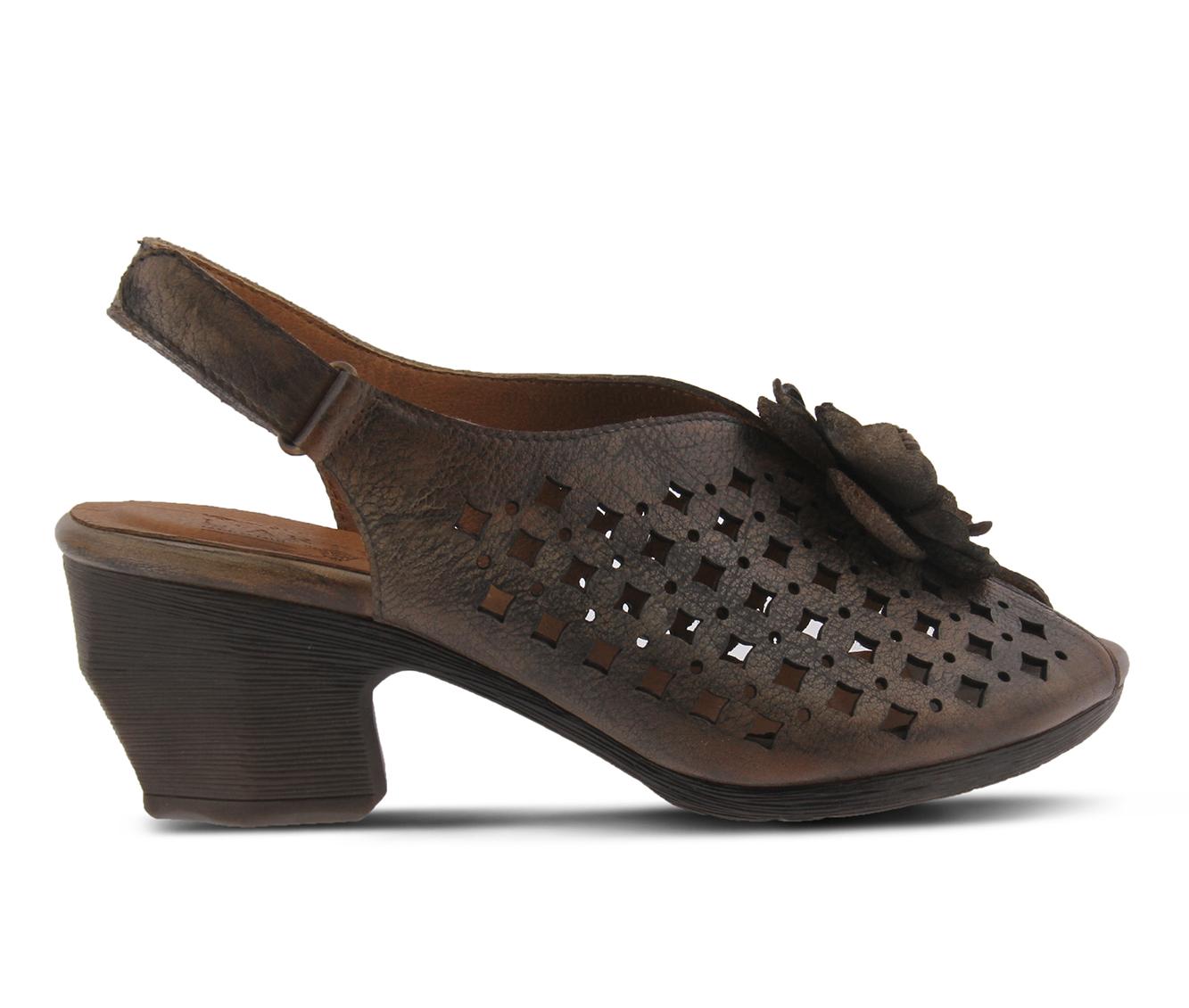 L'Artiste Lovella Women's Dress Shoe (Gray Leather)