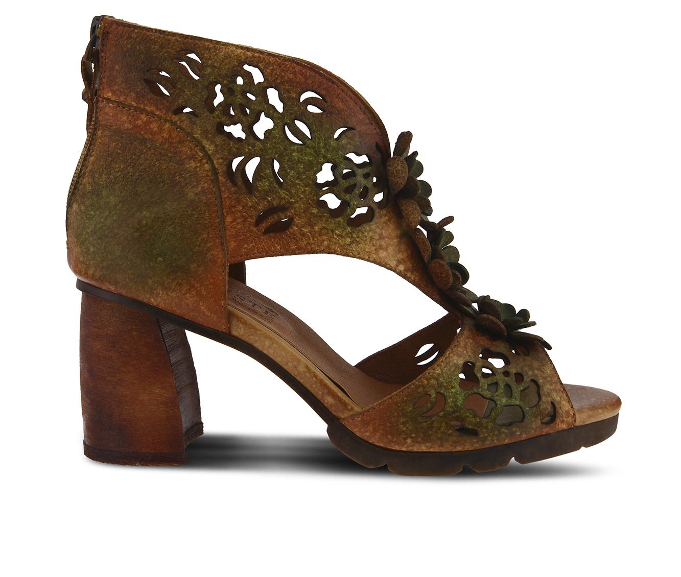 L'Artiste Marieloves Women's Dress Shoe (Brown Leather)